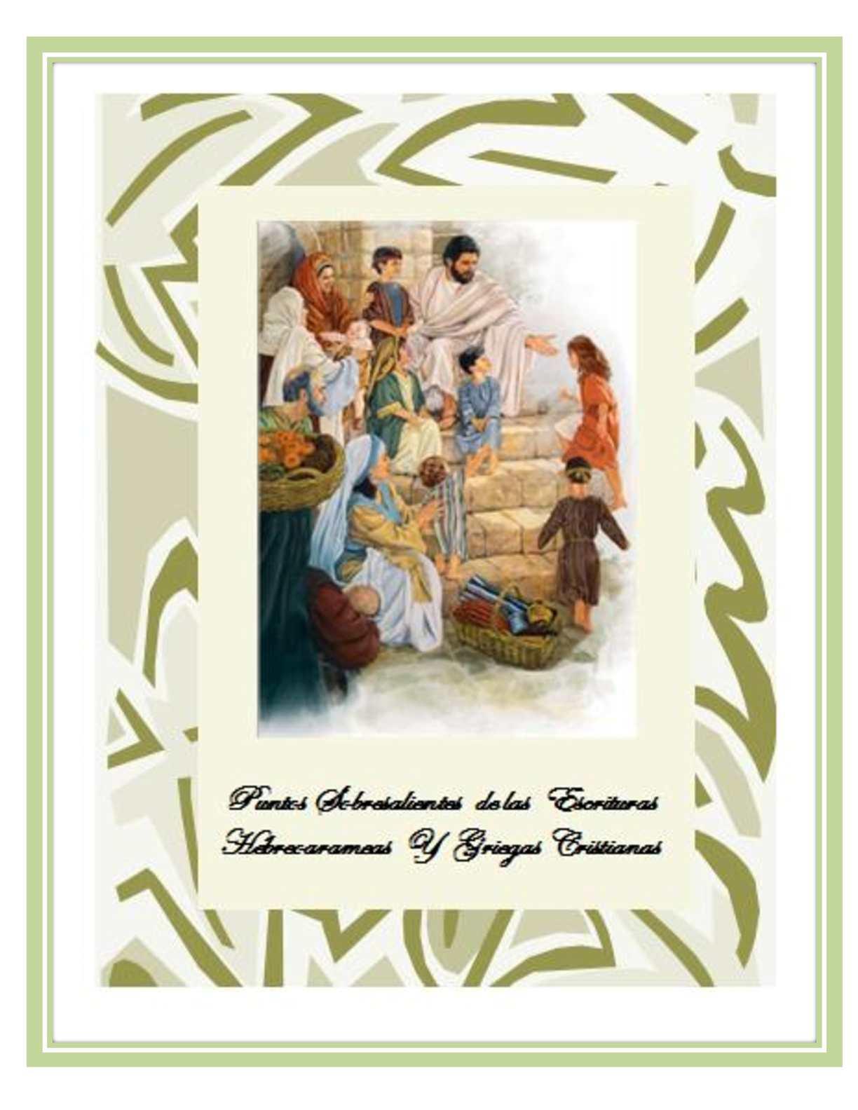 Calaméo - Puntos Sobresalientes de la Biblia (Gen-Rev)