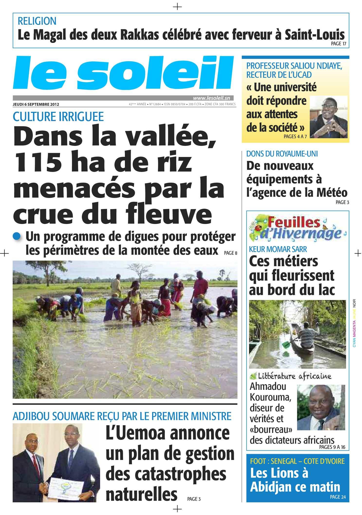 Calaméo Edition du 6 septembre 2012