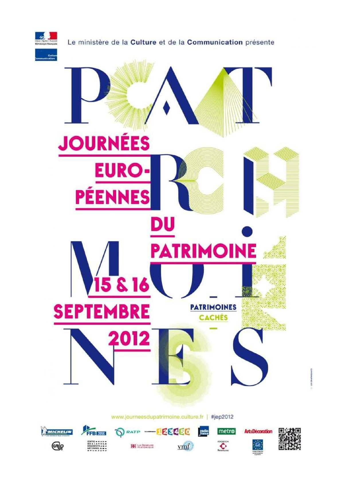 Calam o programme des journ es du patrimoine 2012 en - Office du tourisme meurthe et moselle ...