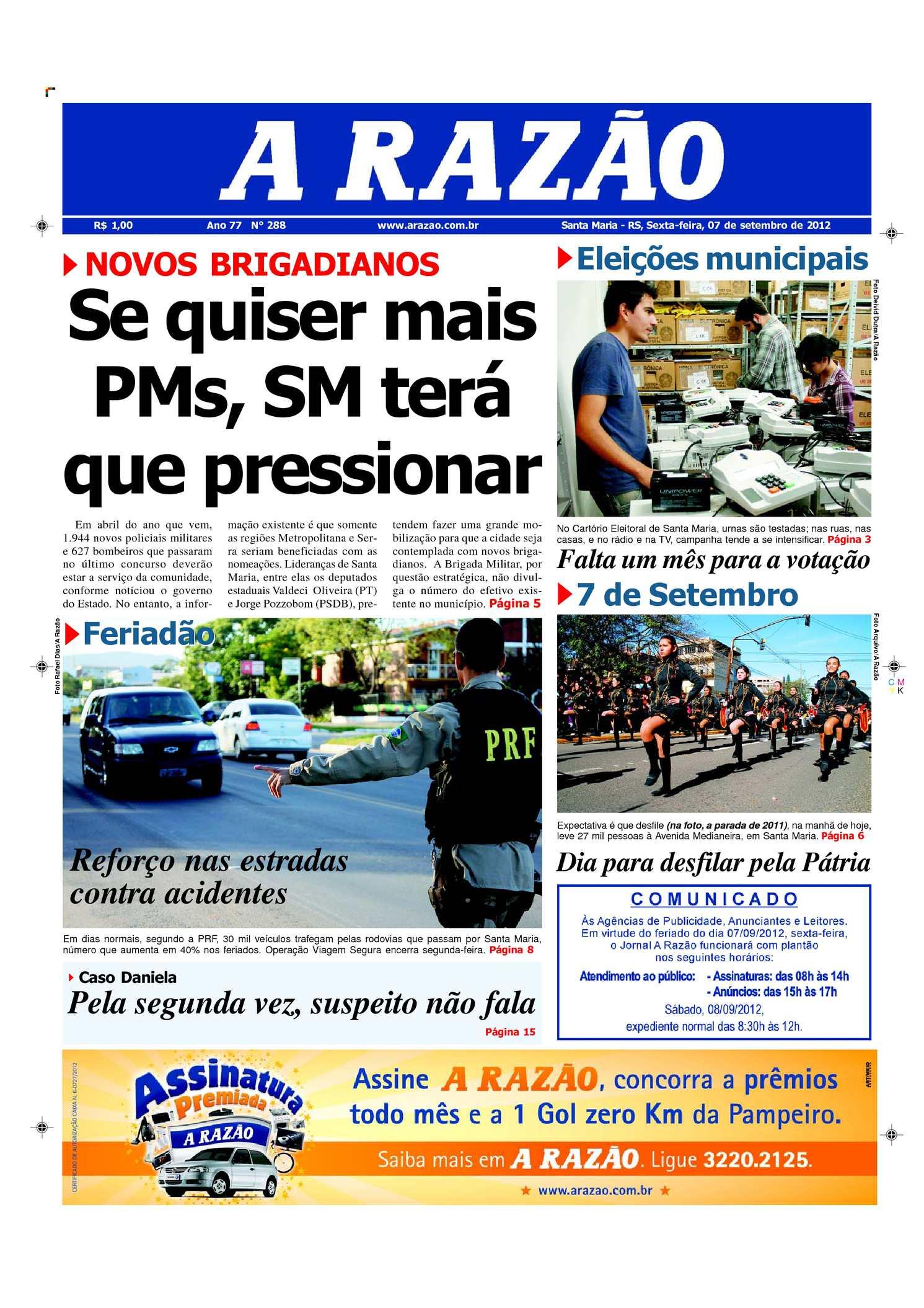 Calaméo - Jornal A Razão Santa Maria - 07092012 1436439dba