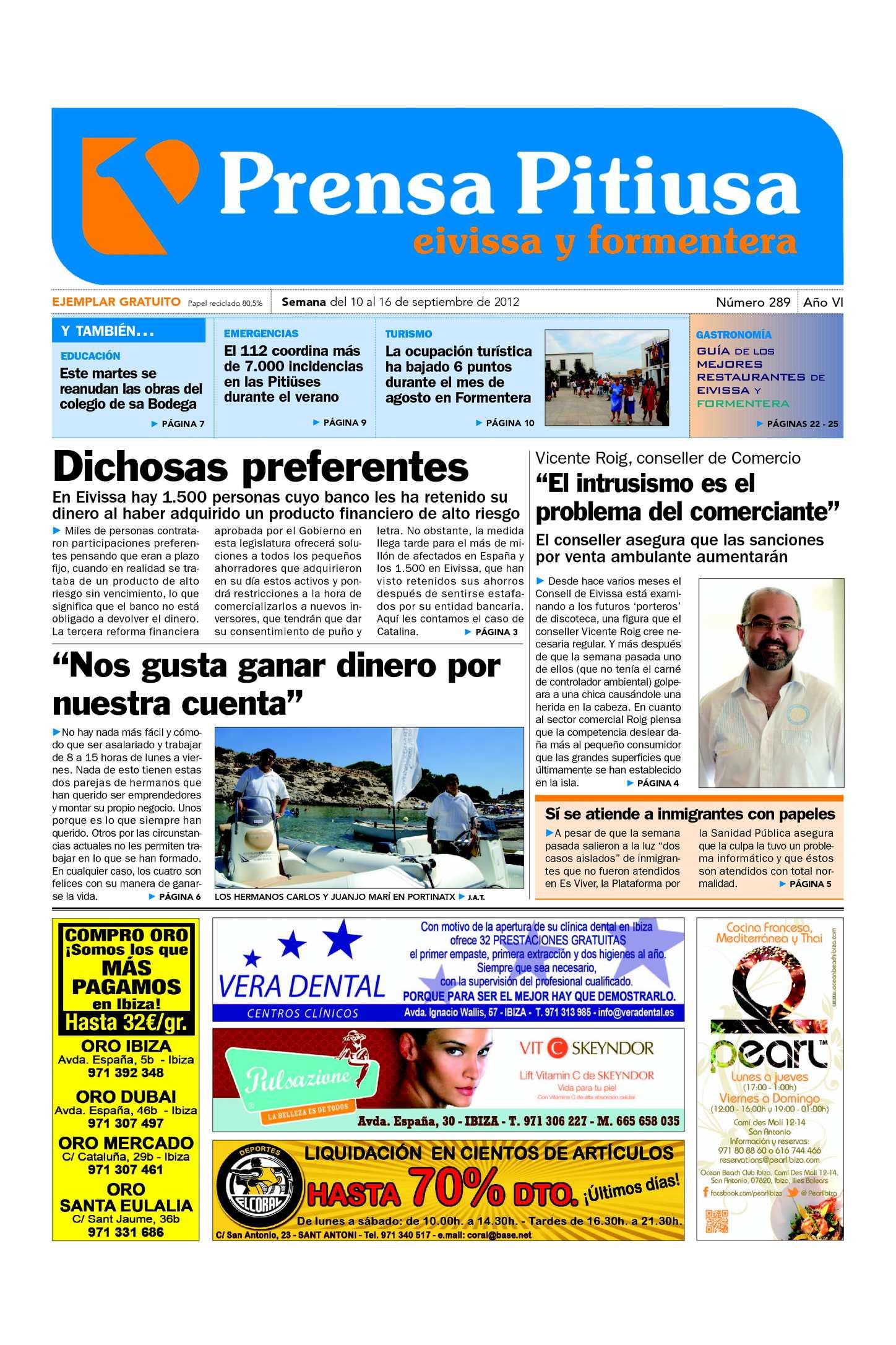 Calaméo - Prensa Pitiusa edición 289