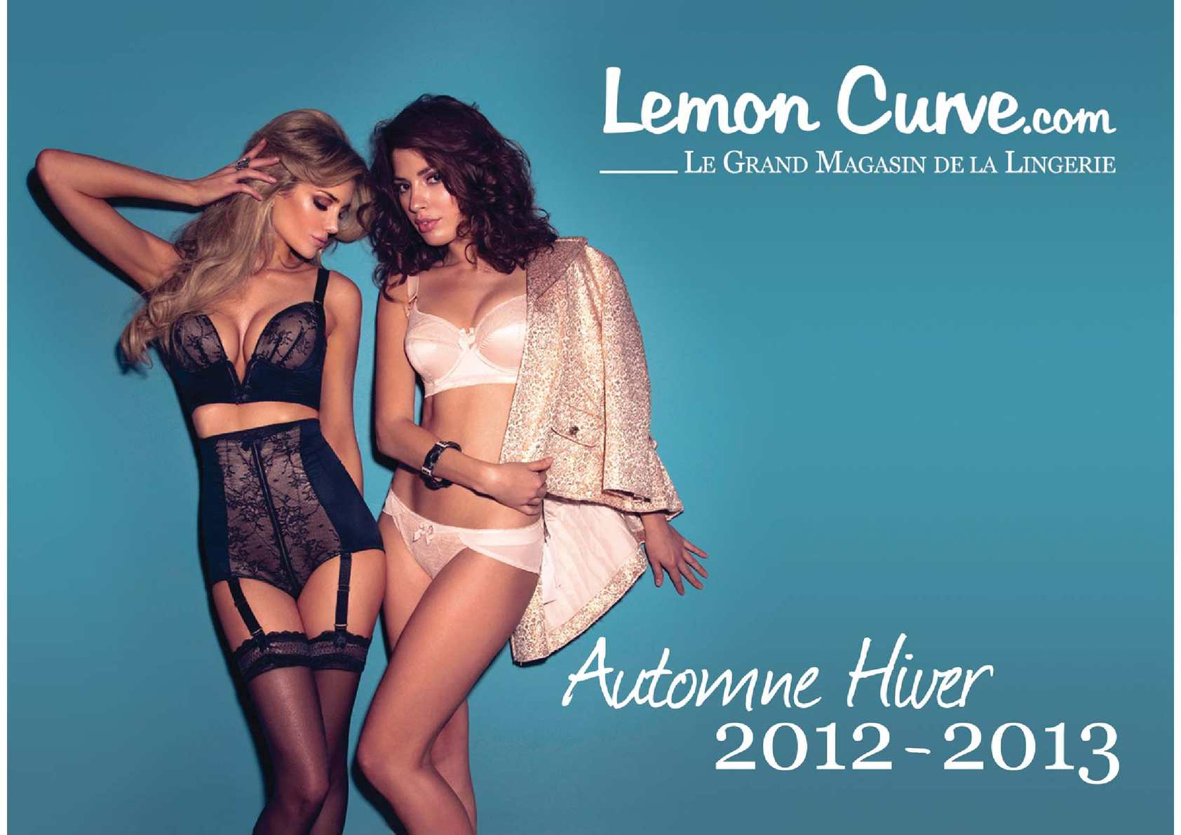 Catalogue Lingerie et Maillots de bain - Lemon Curve Automne-Hiver 2012