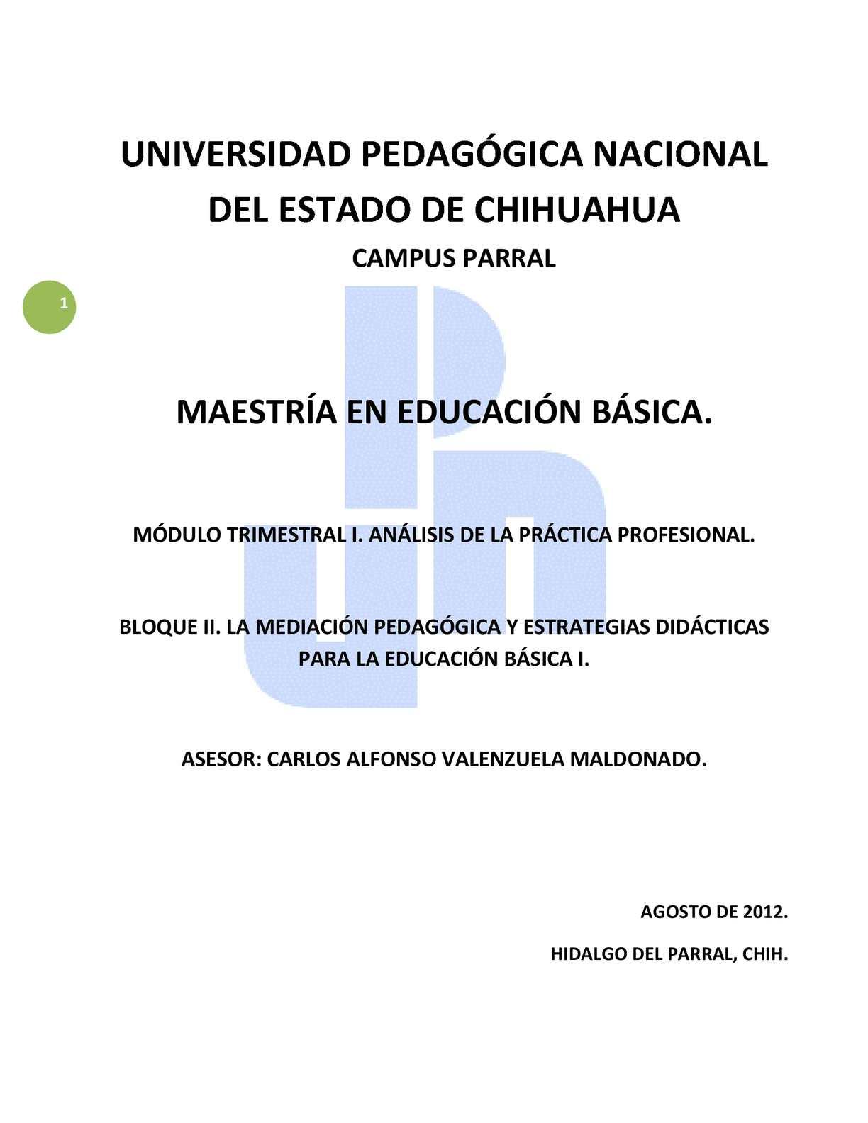 Calaméo - La Mediación Pedagógica y Estrategias Didácticas para la ...