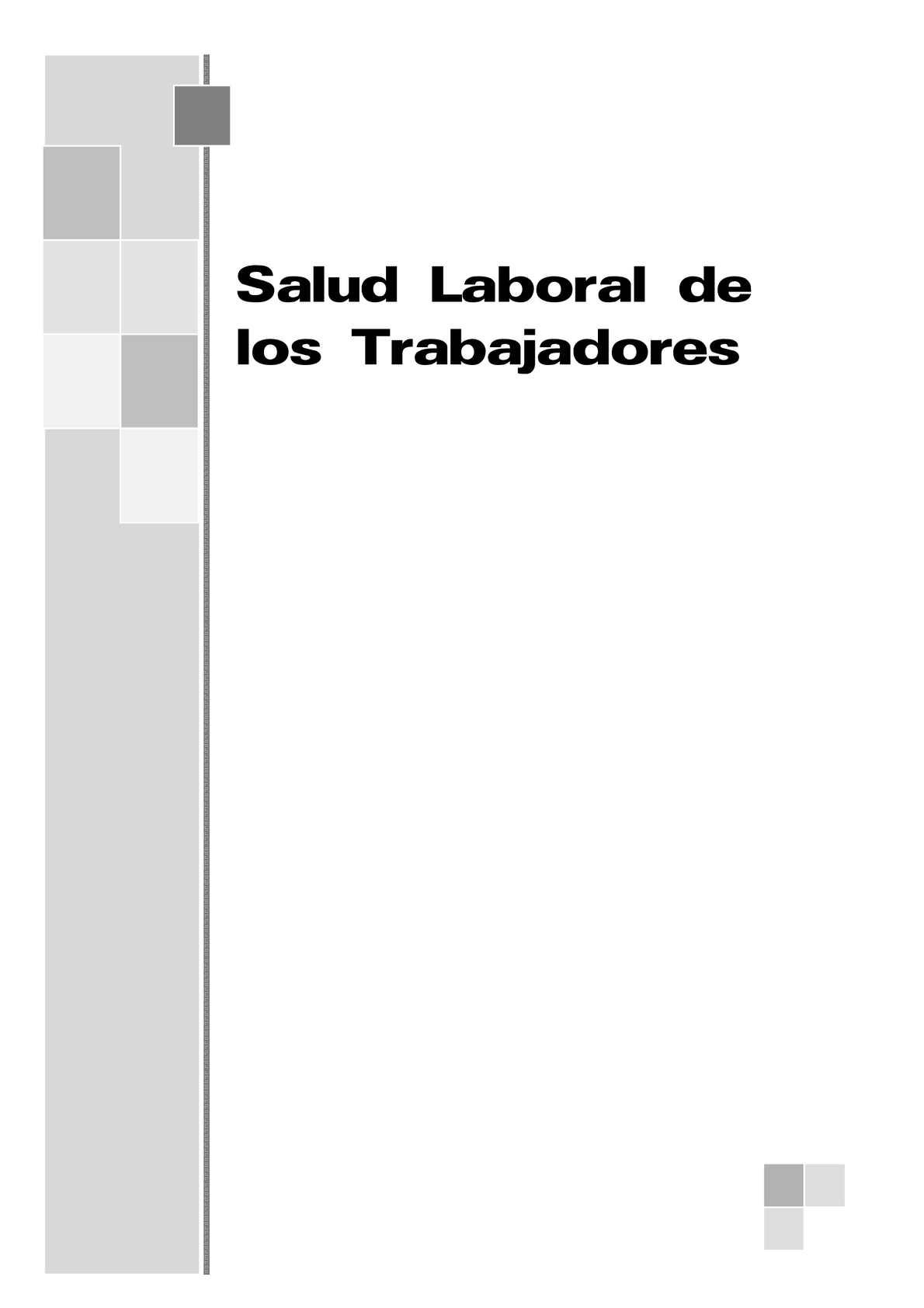 Calaméo - Salud laboral de los trabajadores