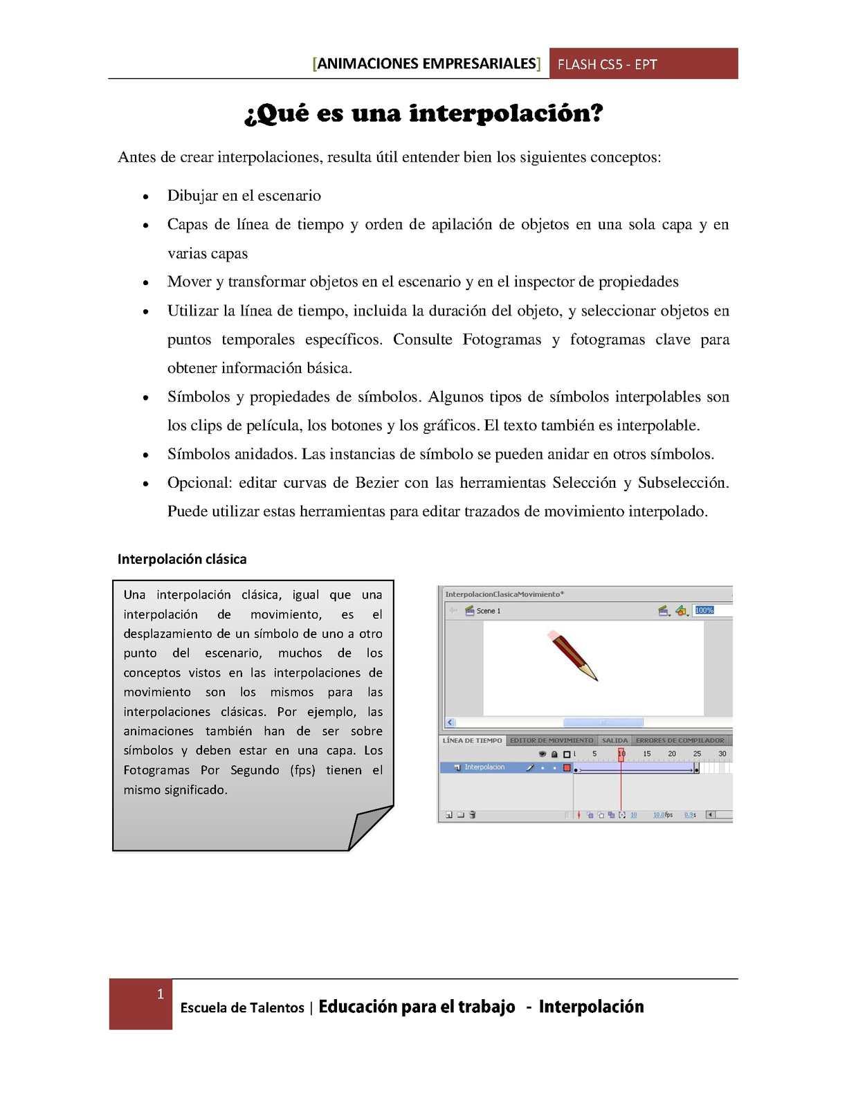 Calaméo - Tipos de interpolación