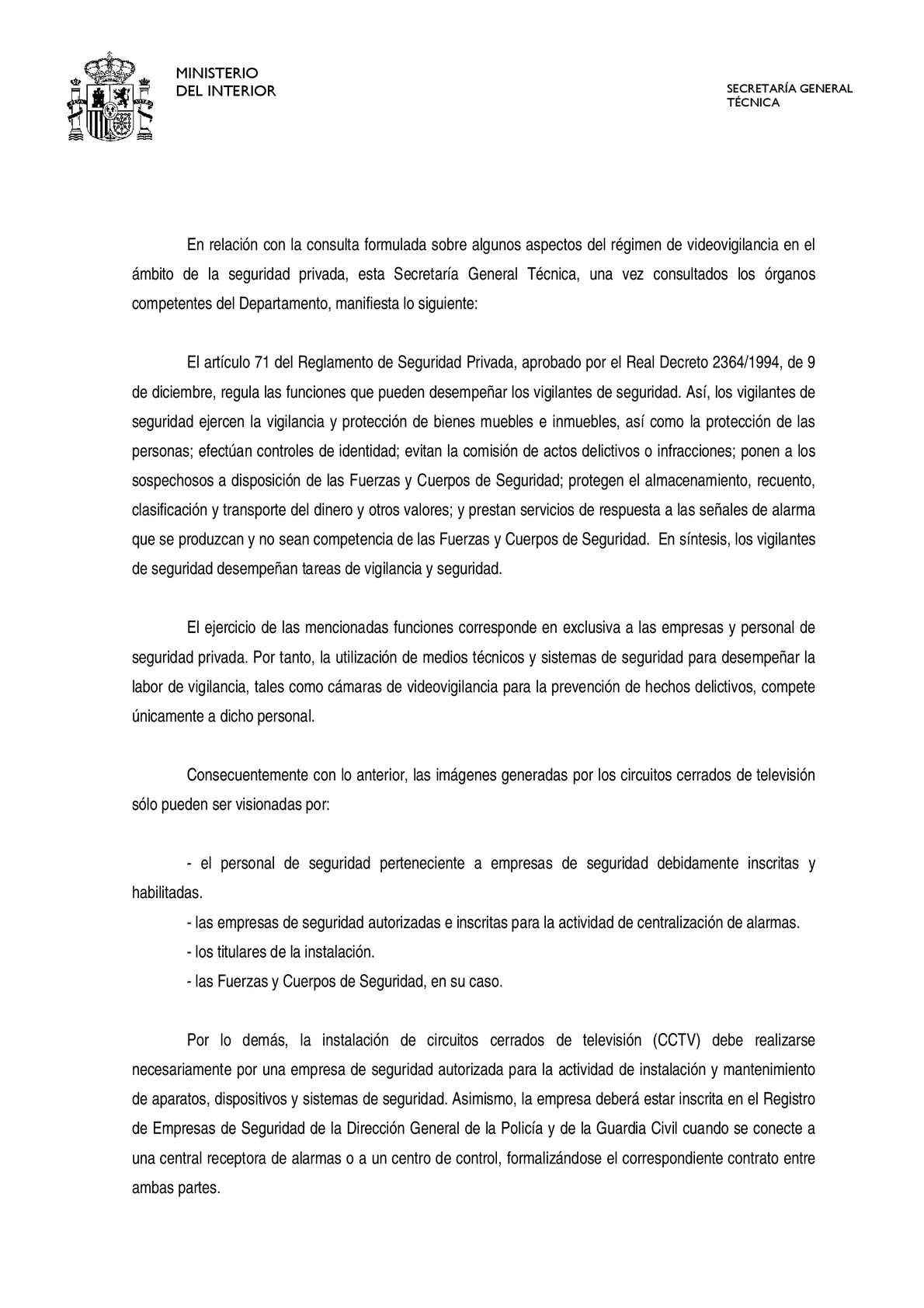 Calaméo - informe de la secretaria tecnica sobre la colocacion de ...