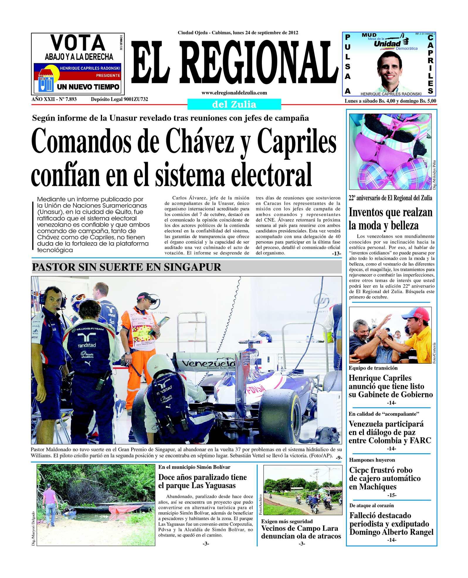 Calaméo - El Regional del Zulia 24-09-2012