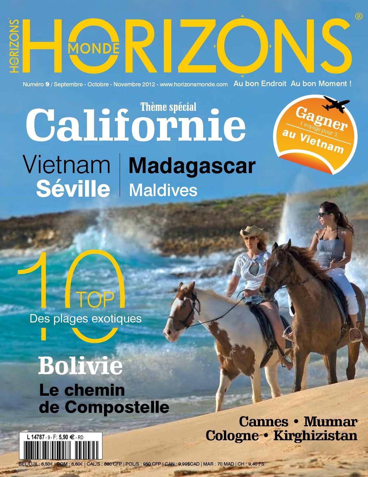 HORIZONS MONDE N°9 automne 2012