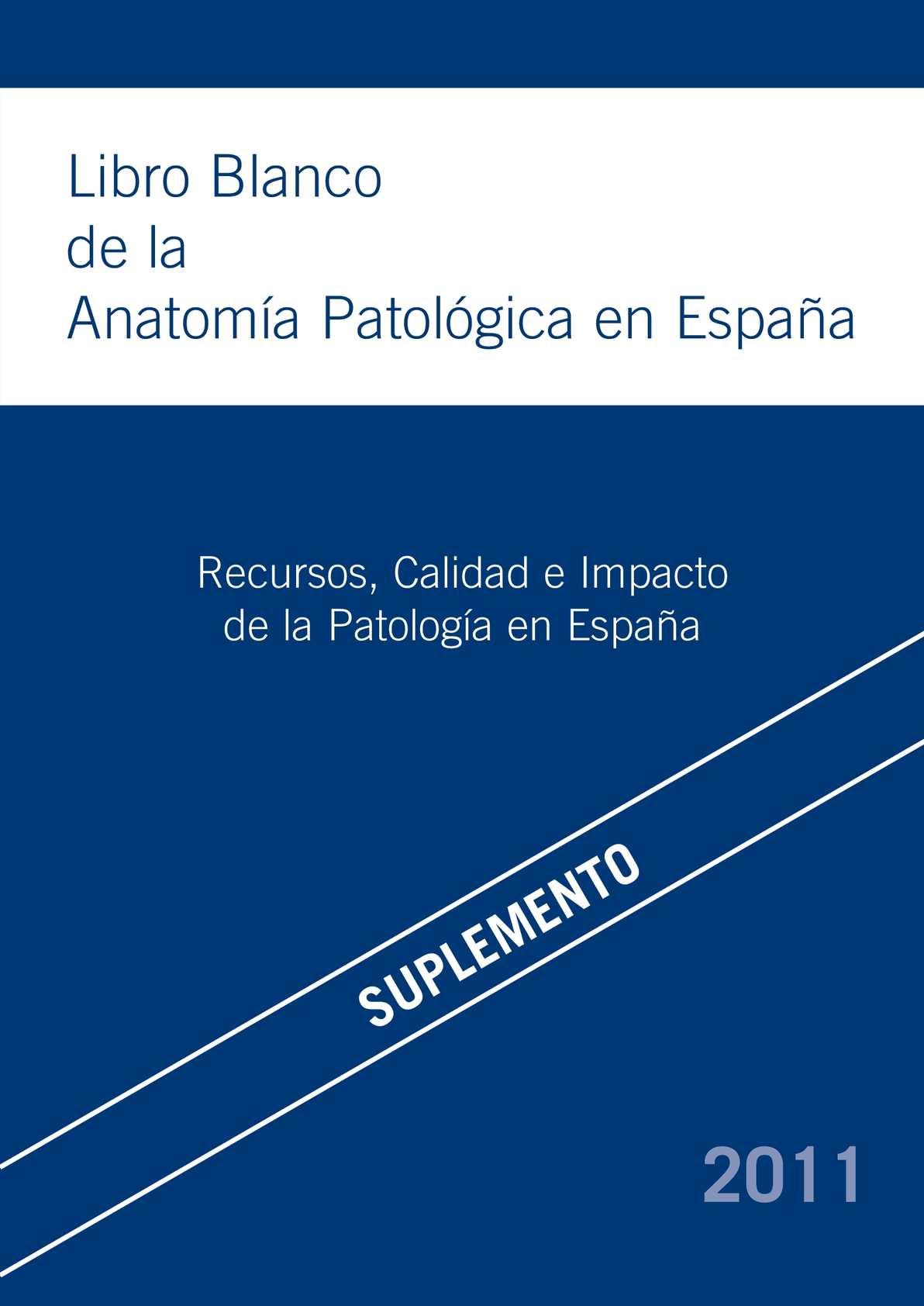 Calaméo - Libro Blanco de Anatomía Patológica
