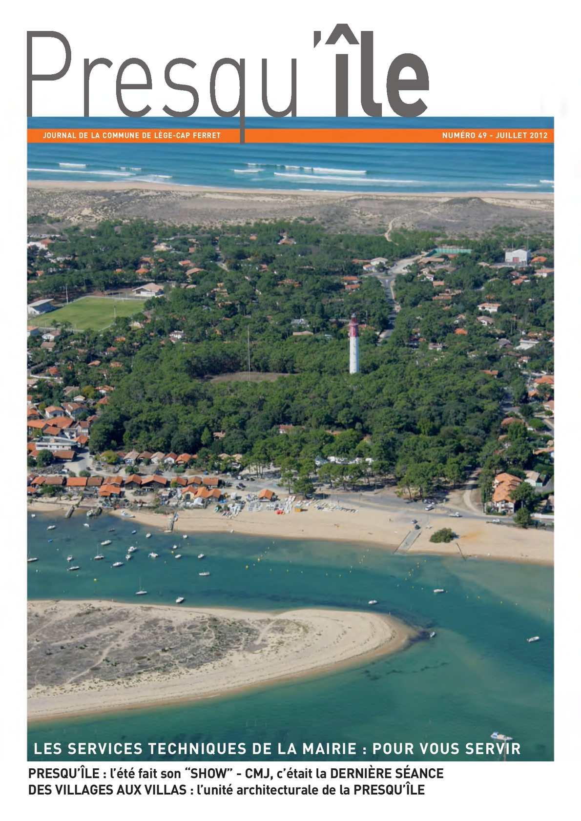 Calam o revue municipale de l ge cap ferret n 49 t 2012 - Office du tourisme de lege cap ferret ...