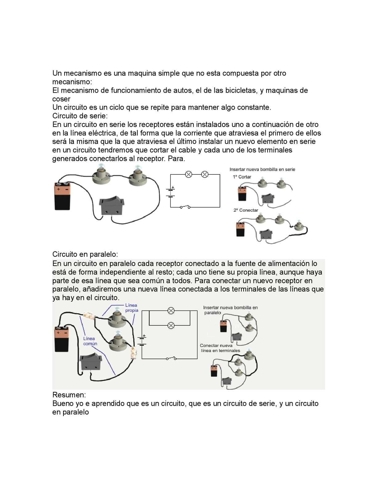 Circuito Que Es : Calaméo mecanismos y circuitos
