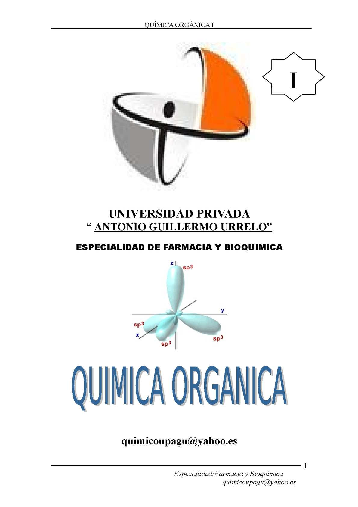 Calamo quimica organica i urtaz Gallery