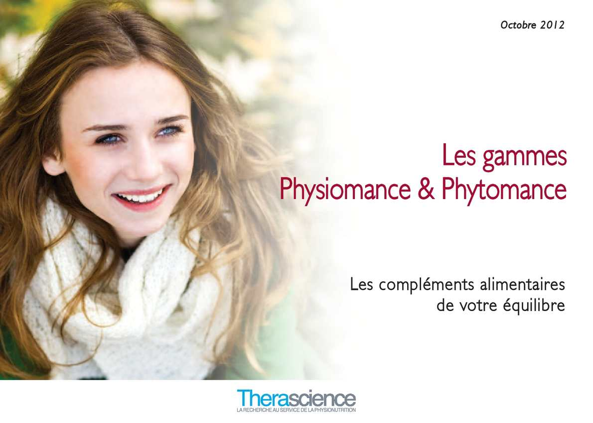 Calaméo - Therascience catalogue Physiomance automne 2012