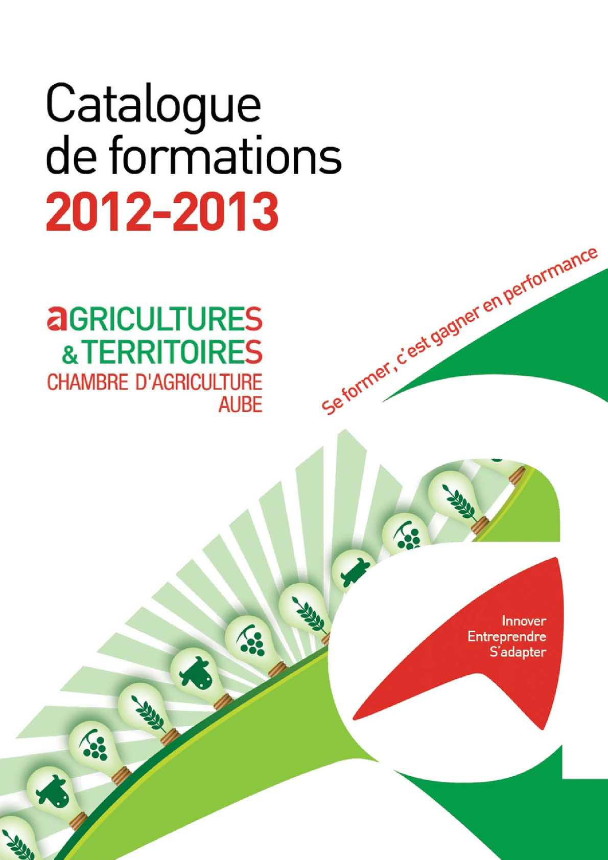 Calam o catalogue formation 2012 2013 - Chambre agriculture aube ...