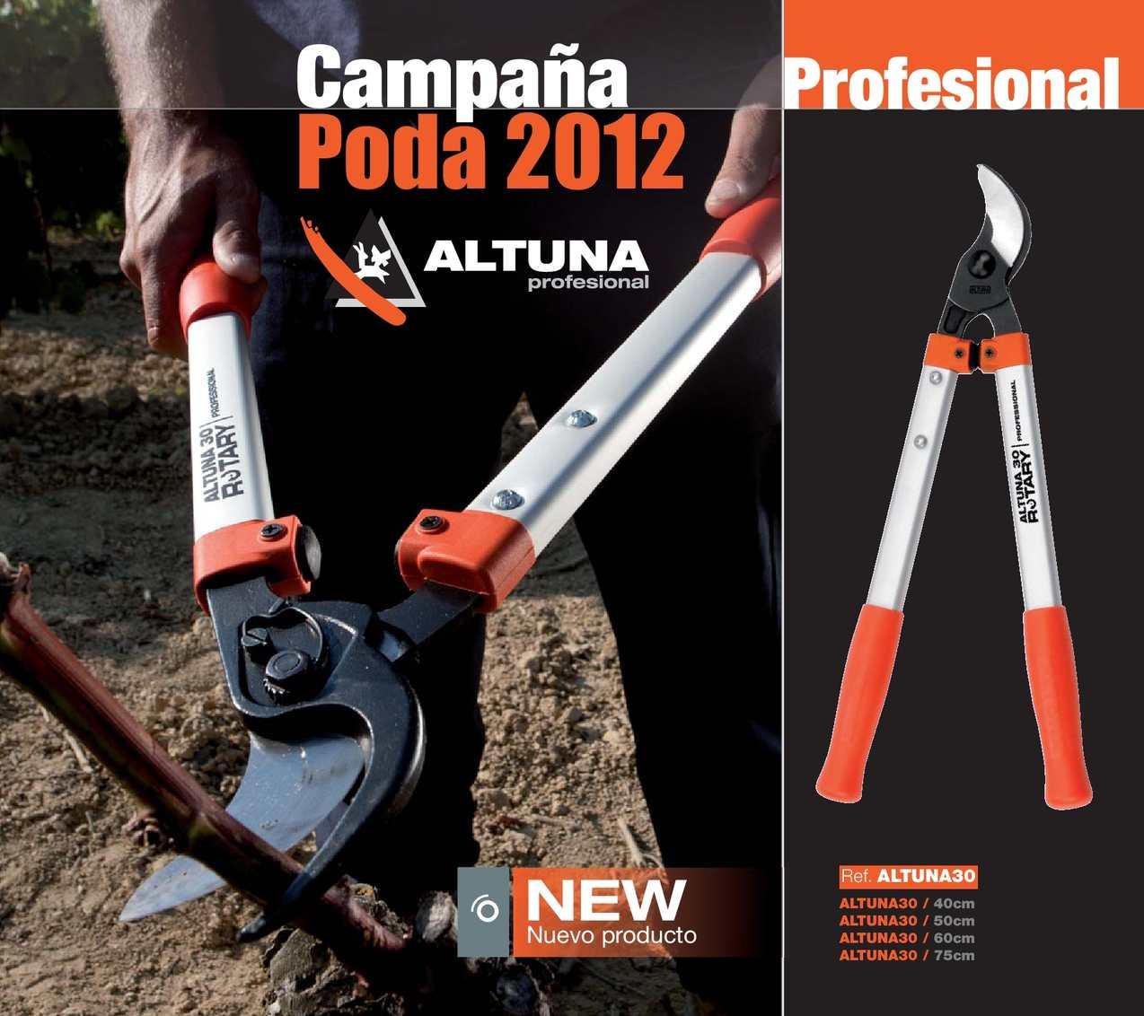 Campaña Poda Altuna 2012