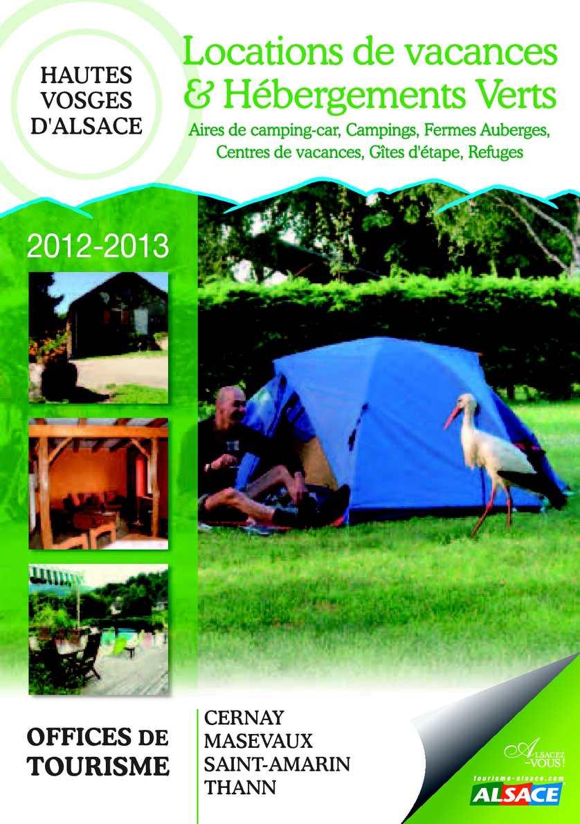 Calam o guide des locations de vacances et h bergements verts - Office de tourisme de cernay ...