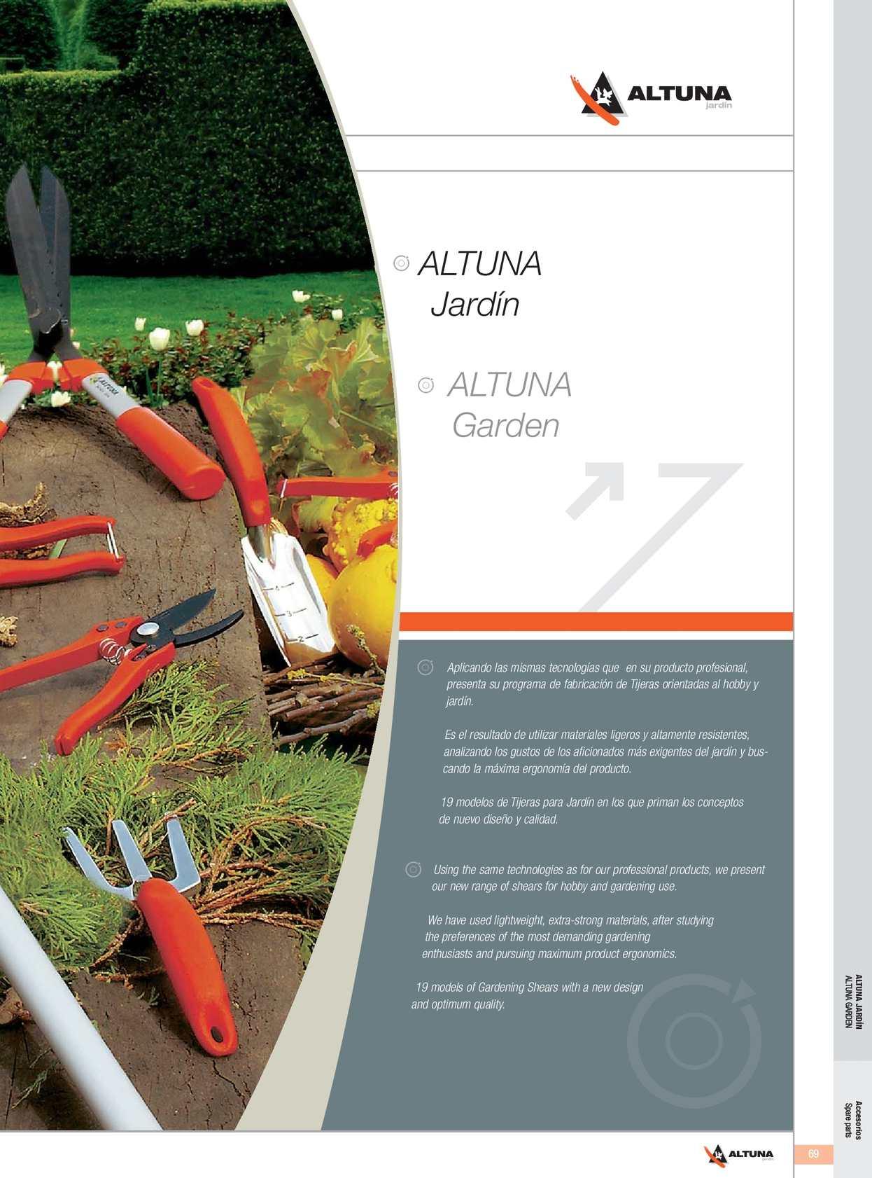 Catálogo Jardín Altuna 2013