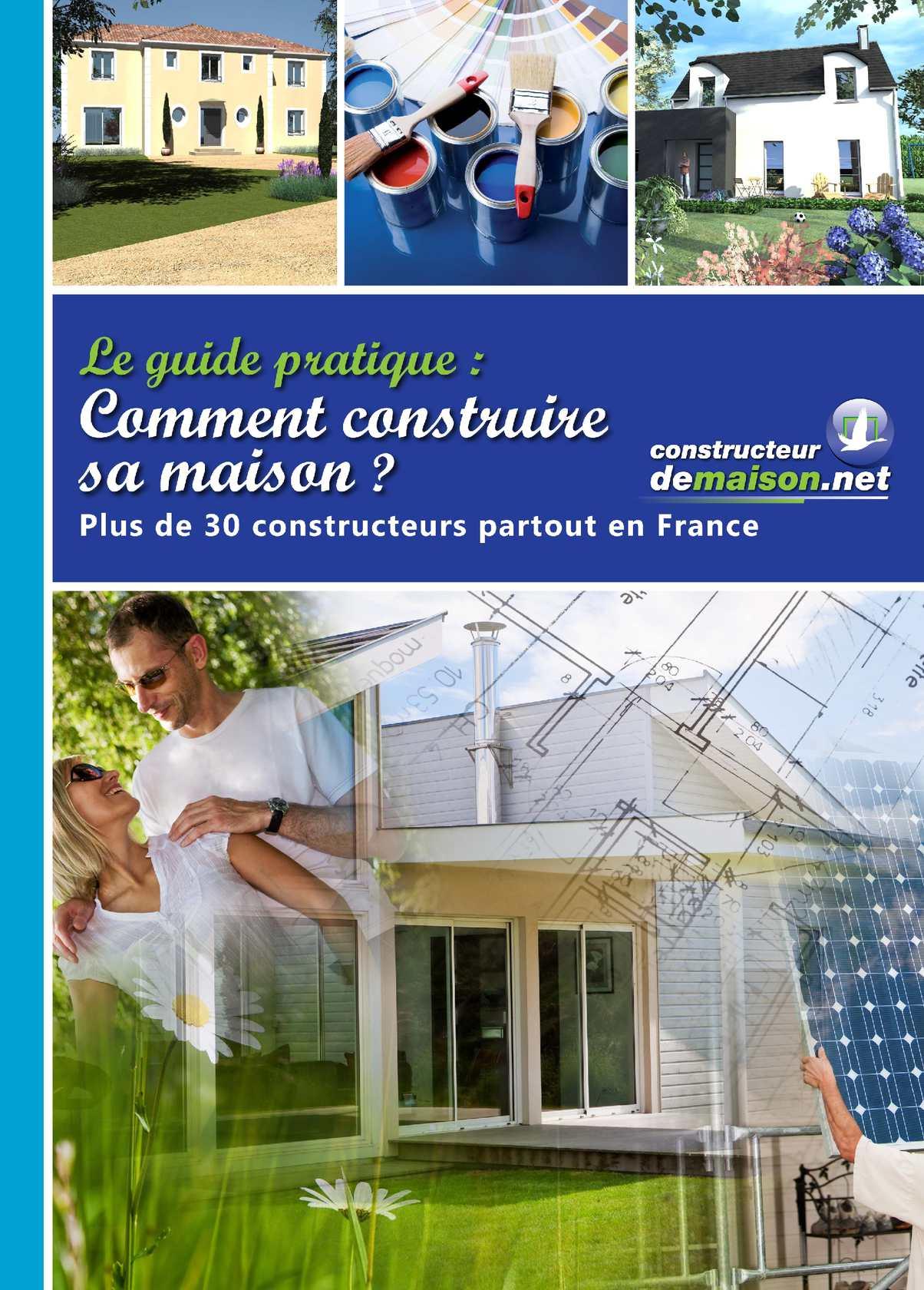 Calam o le guide de la construction maisons de la touvre for Guide construction maison