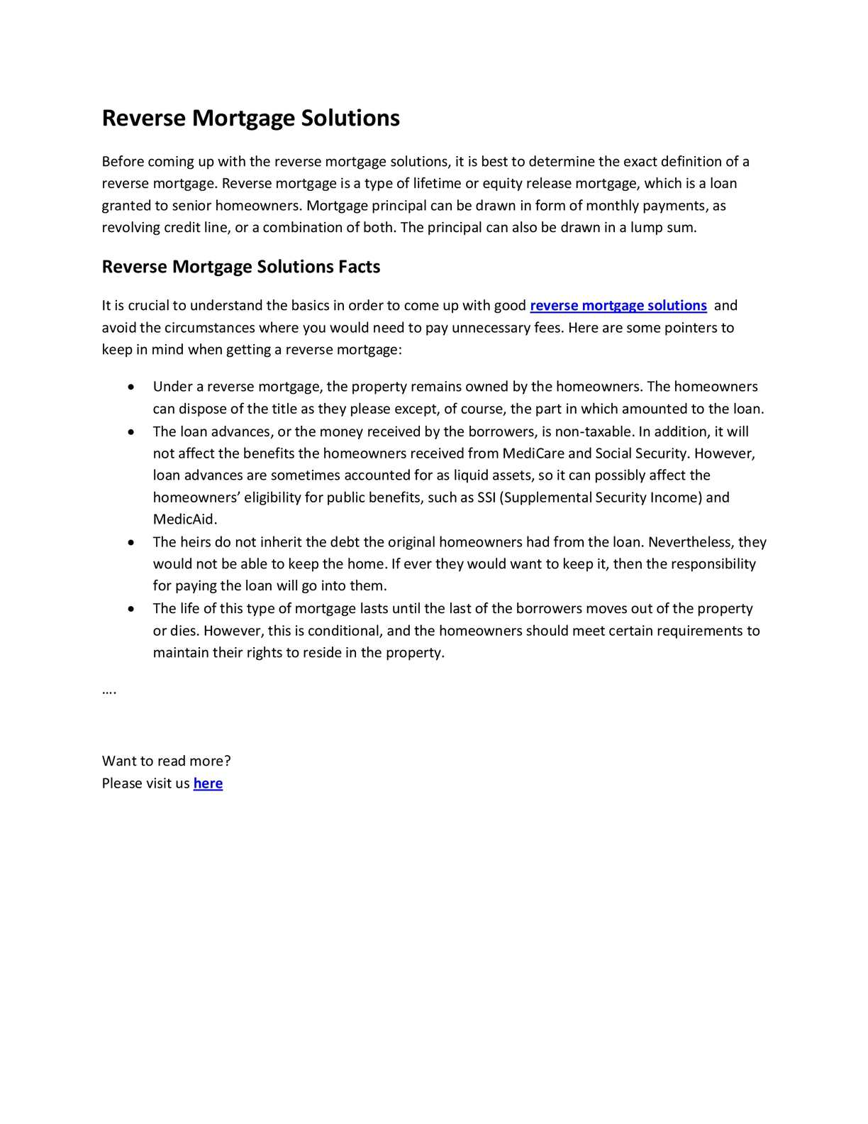 calaméo - reverse mortgage solutions