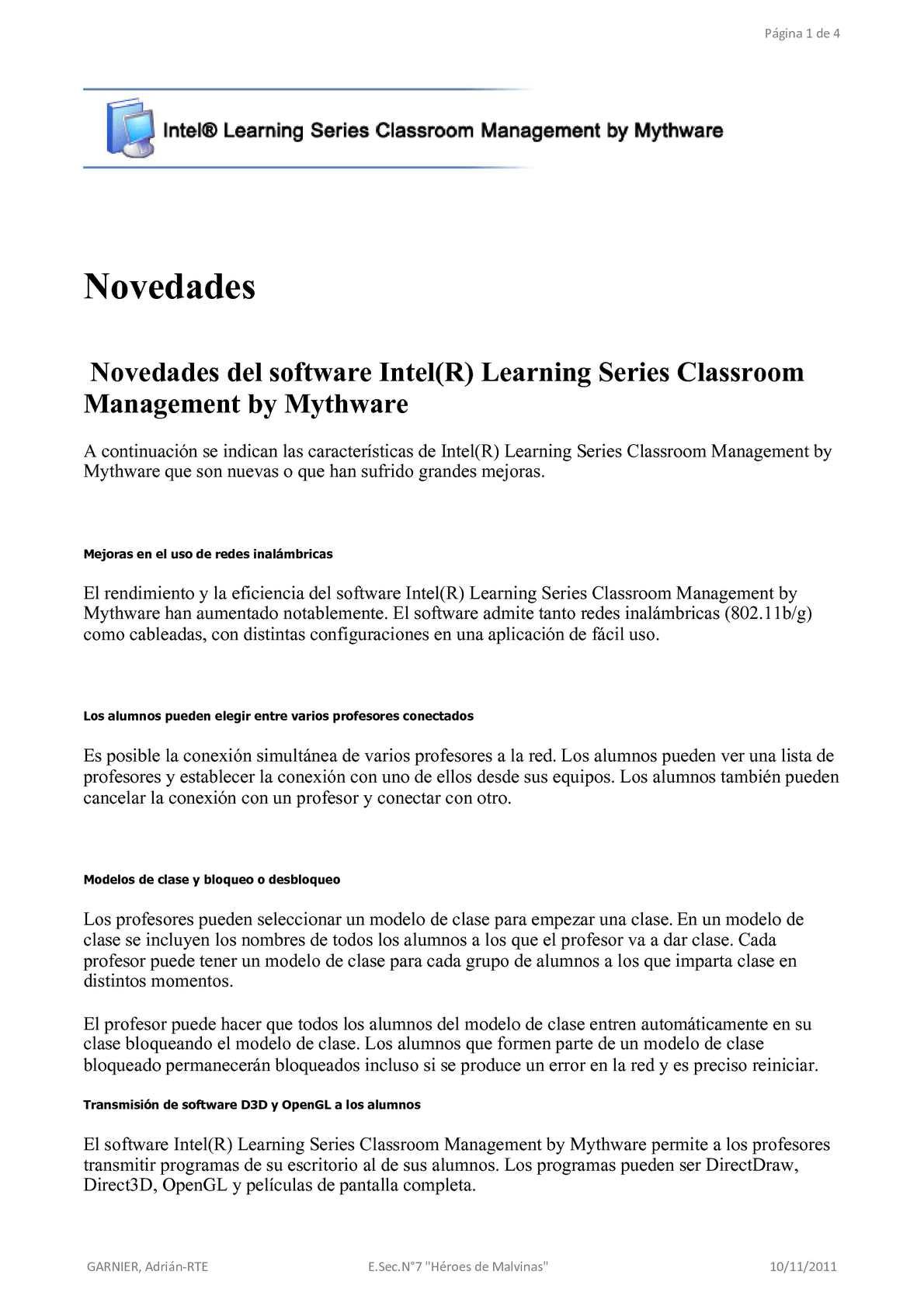 Calaméo - Programa Profesor para las netbook