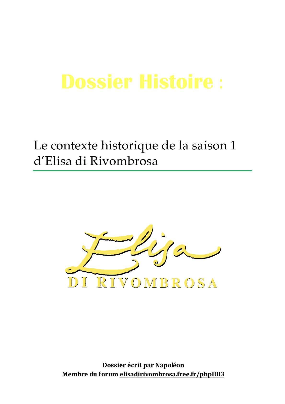 Calam o le contexte historique de la saison 1 d 39 elisa - La chambre des officiers contexte historique ...