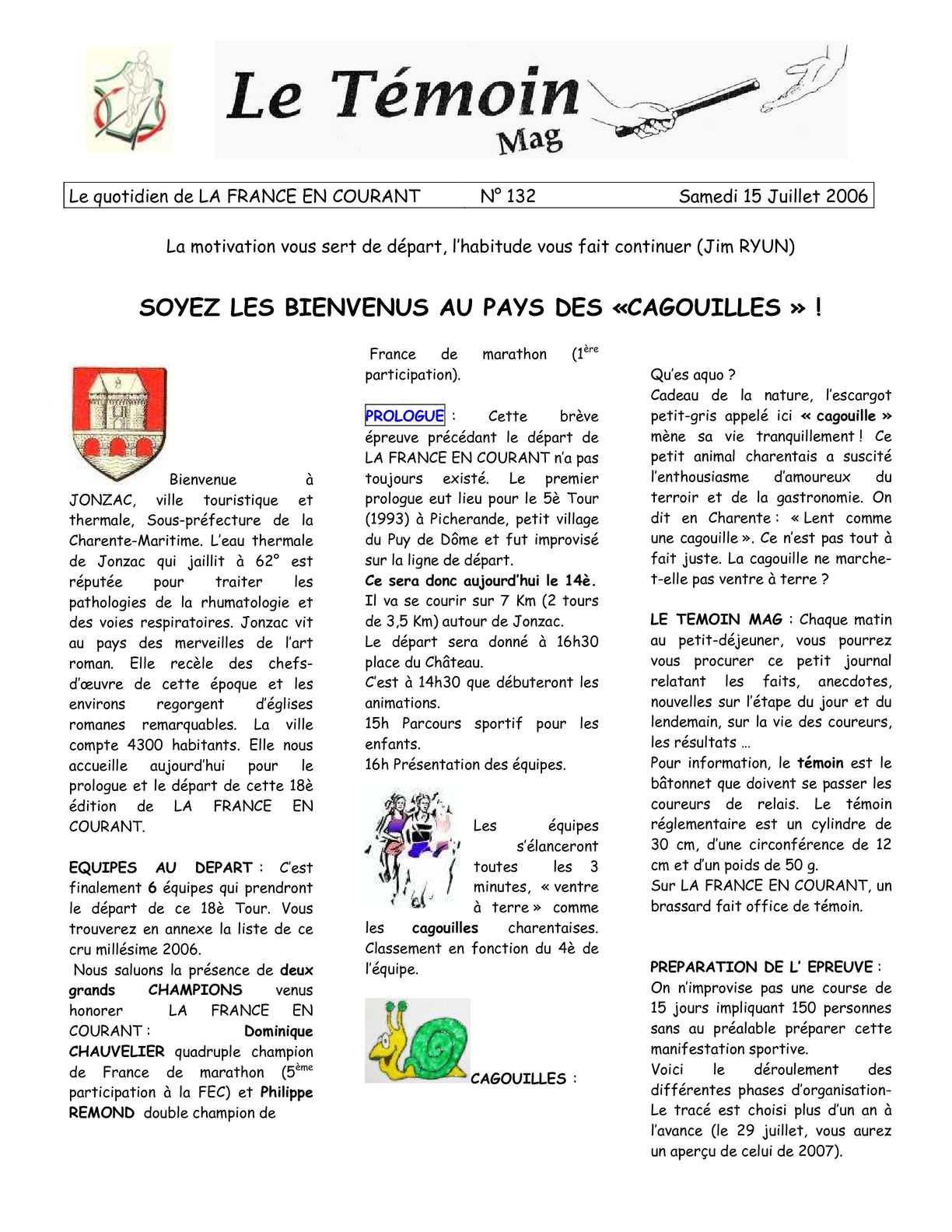 Michel Courvallet La Barre En Ouche dedans calaméo - témoins fec 2006