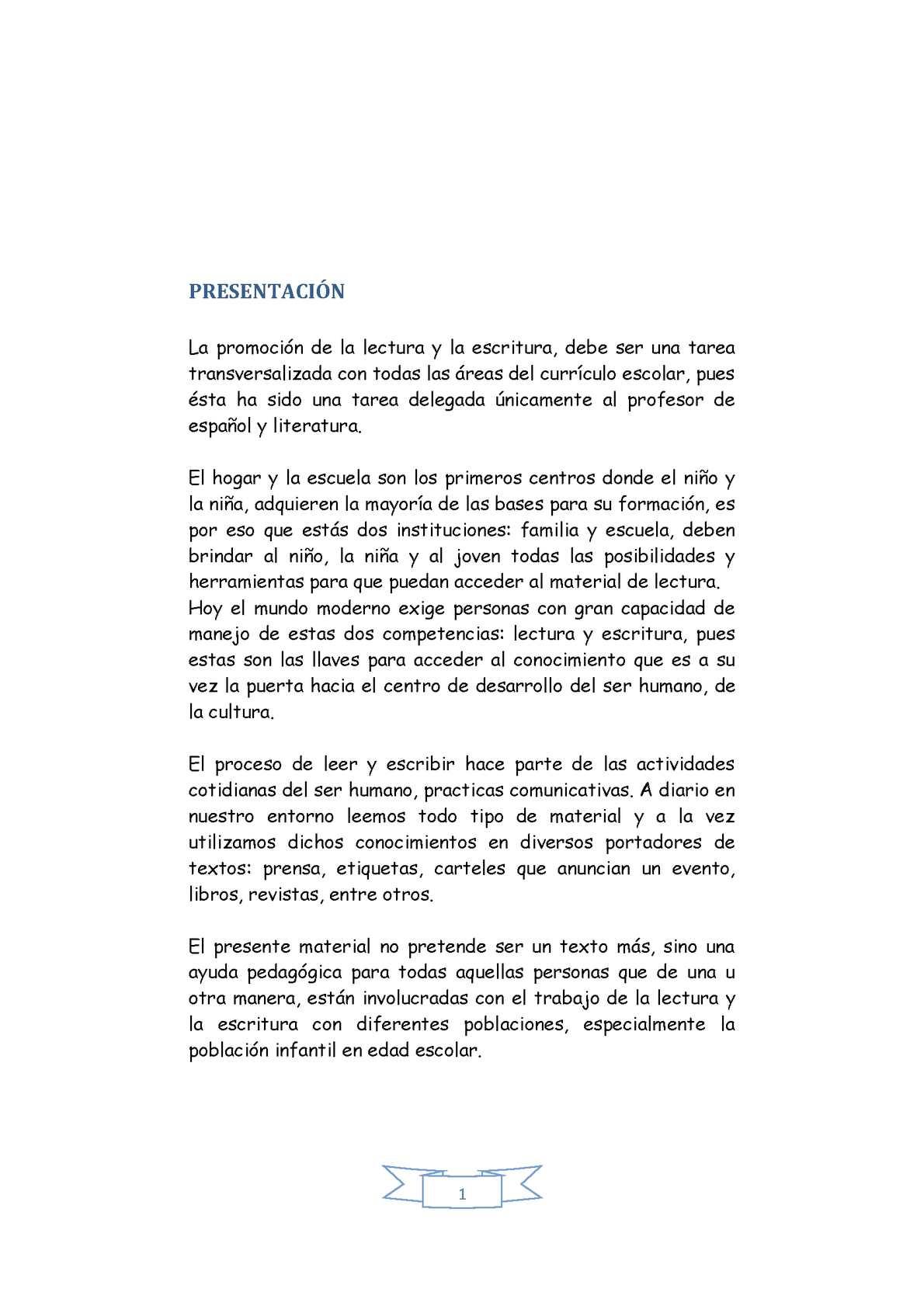Calaméo - LA PROMOCIÓN DE LECTURA DESDE Y EN EL AULA.
