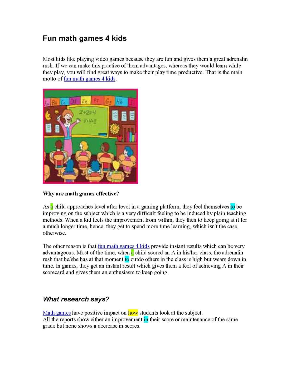 Calaméo - Fun Math Games For Kids