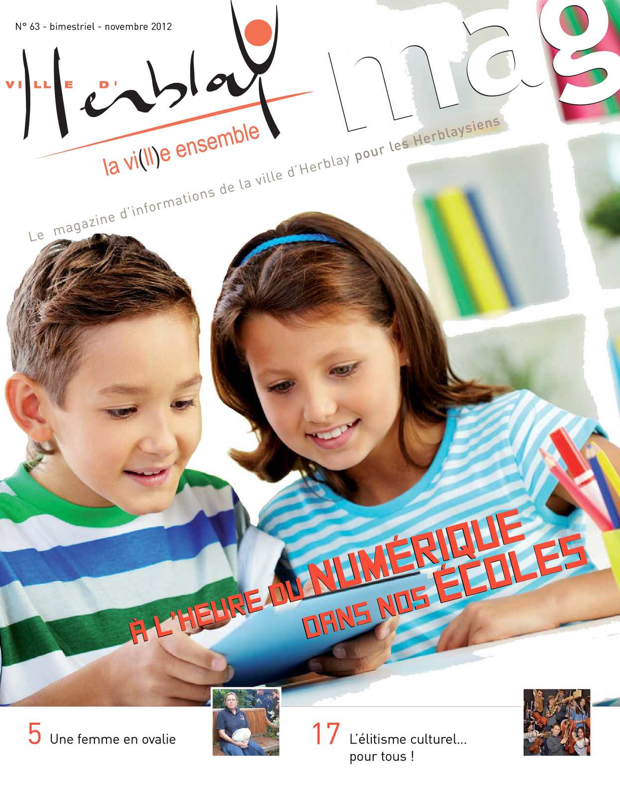 Calam o herblay mag n 63 novembre 2012 - Piscine d herblay ...