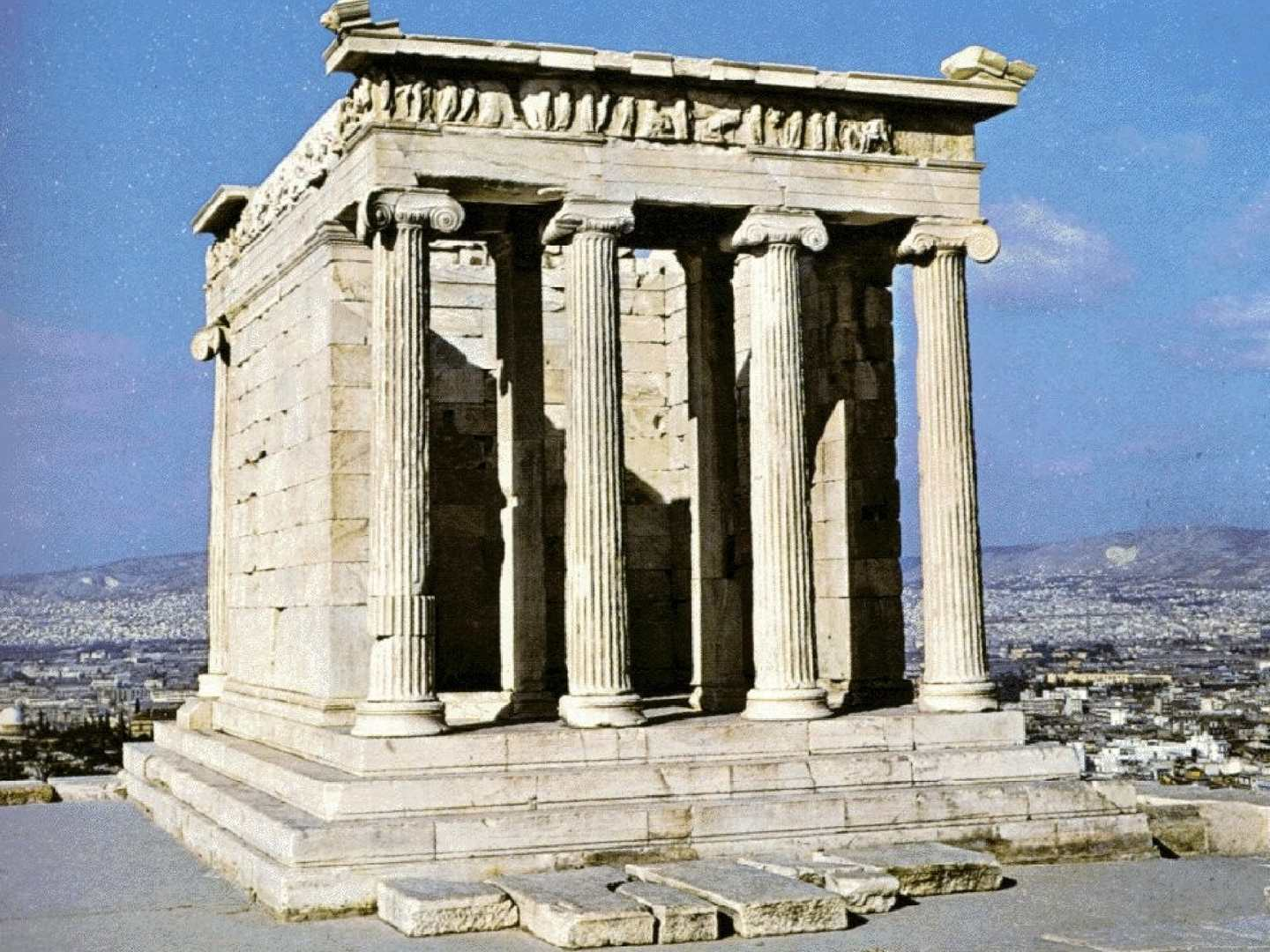 temple of athena nike apteros architecture greek pinterest