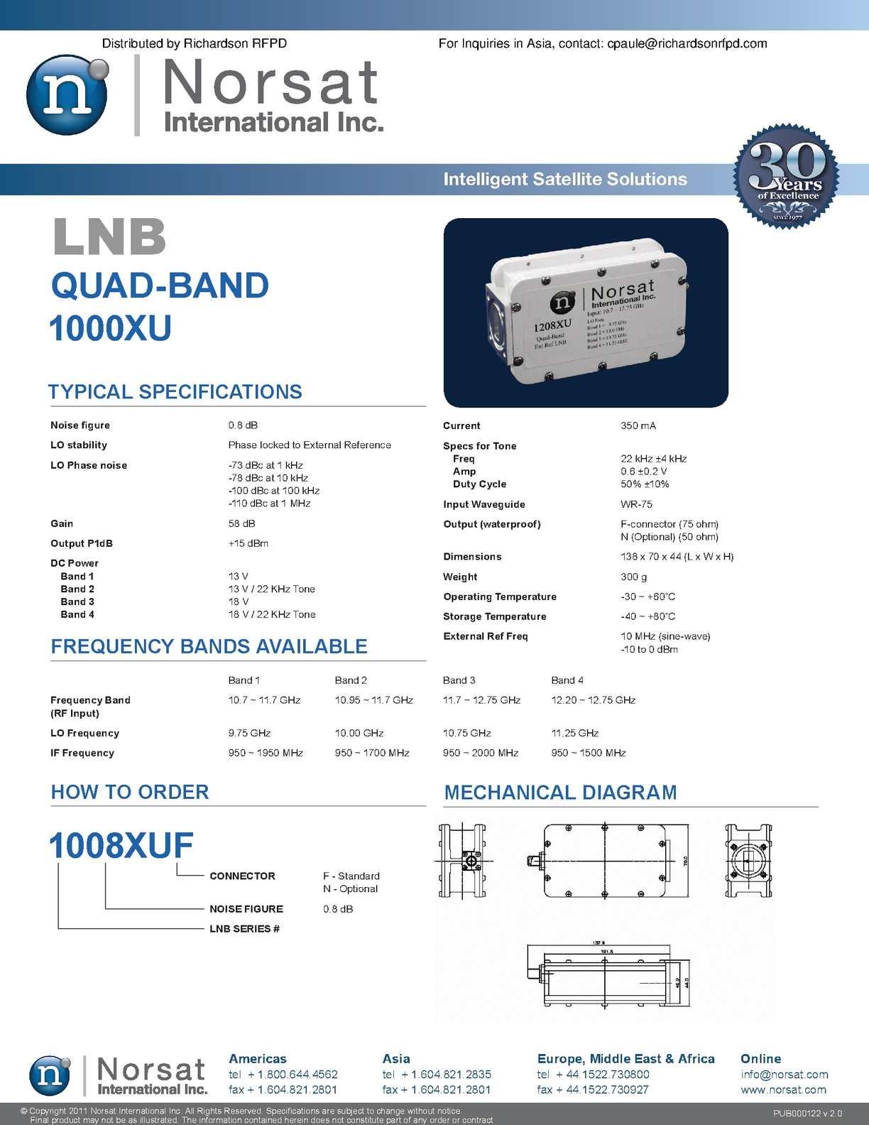Calaméo - NORSAT_QUAD-BAND_1000XU_LNB