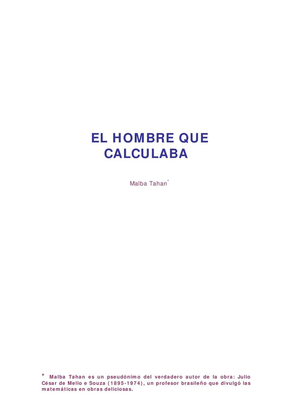 Calaméo - el-hombre-que-calculaba