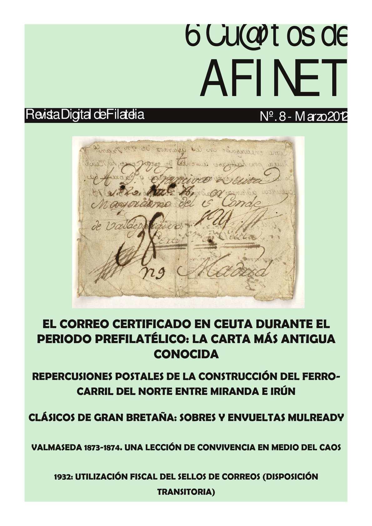 Revista Digital 6Cuartos Nº8