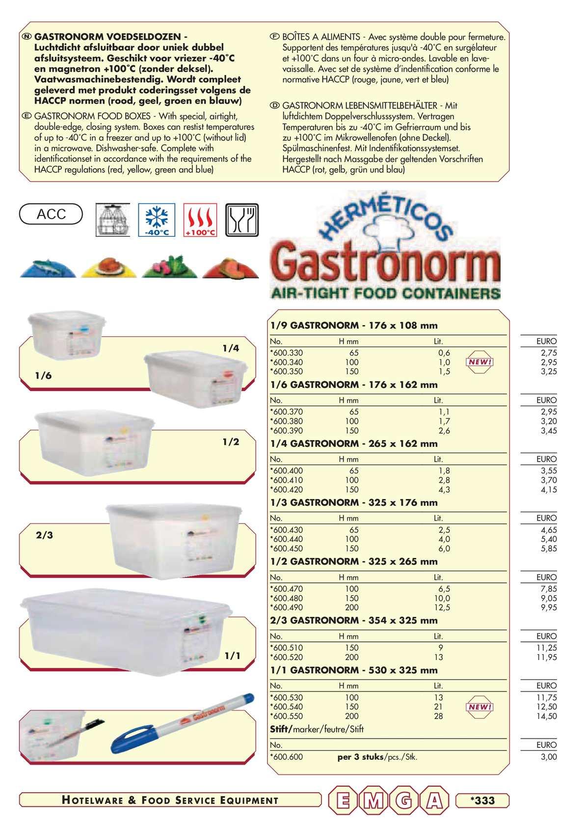 Calamo Catalogue Materiel Horeca Emga De Yatout Partie 2 Gelang Karet Blanden