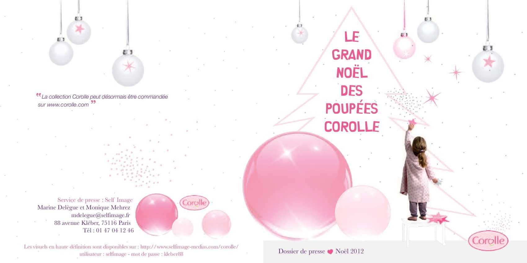 Dossier de presse Noël 2012