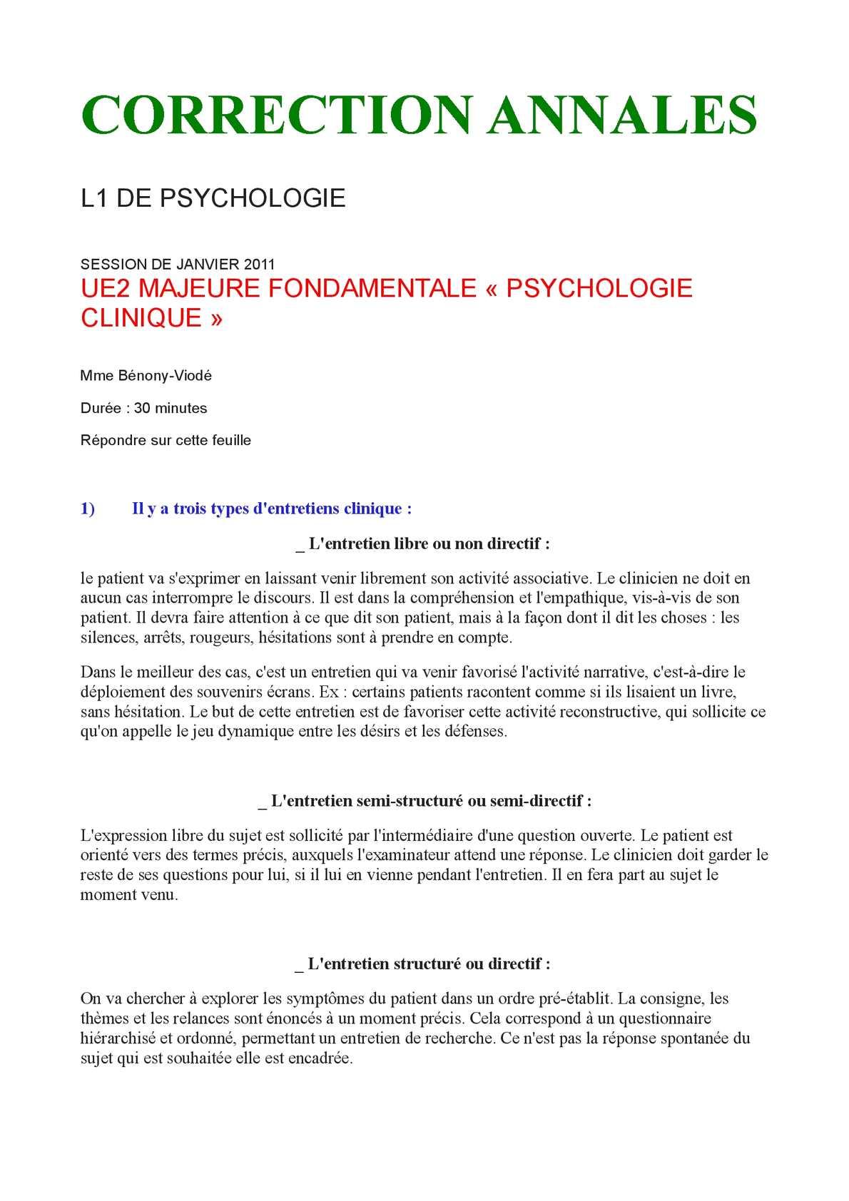 Calaméo - Annales de psychologie clinique