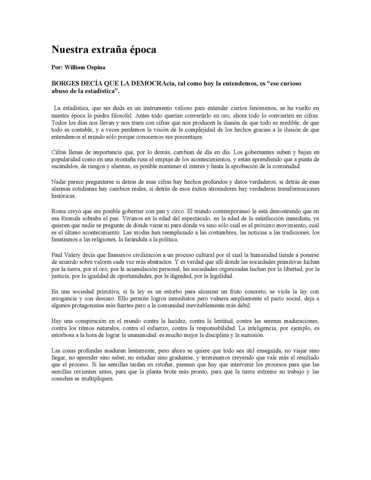 Calaméo - ENSAYO DE WILLIAM OSPINA
