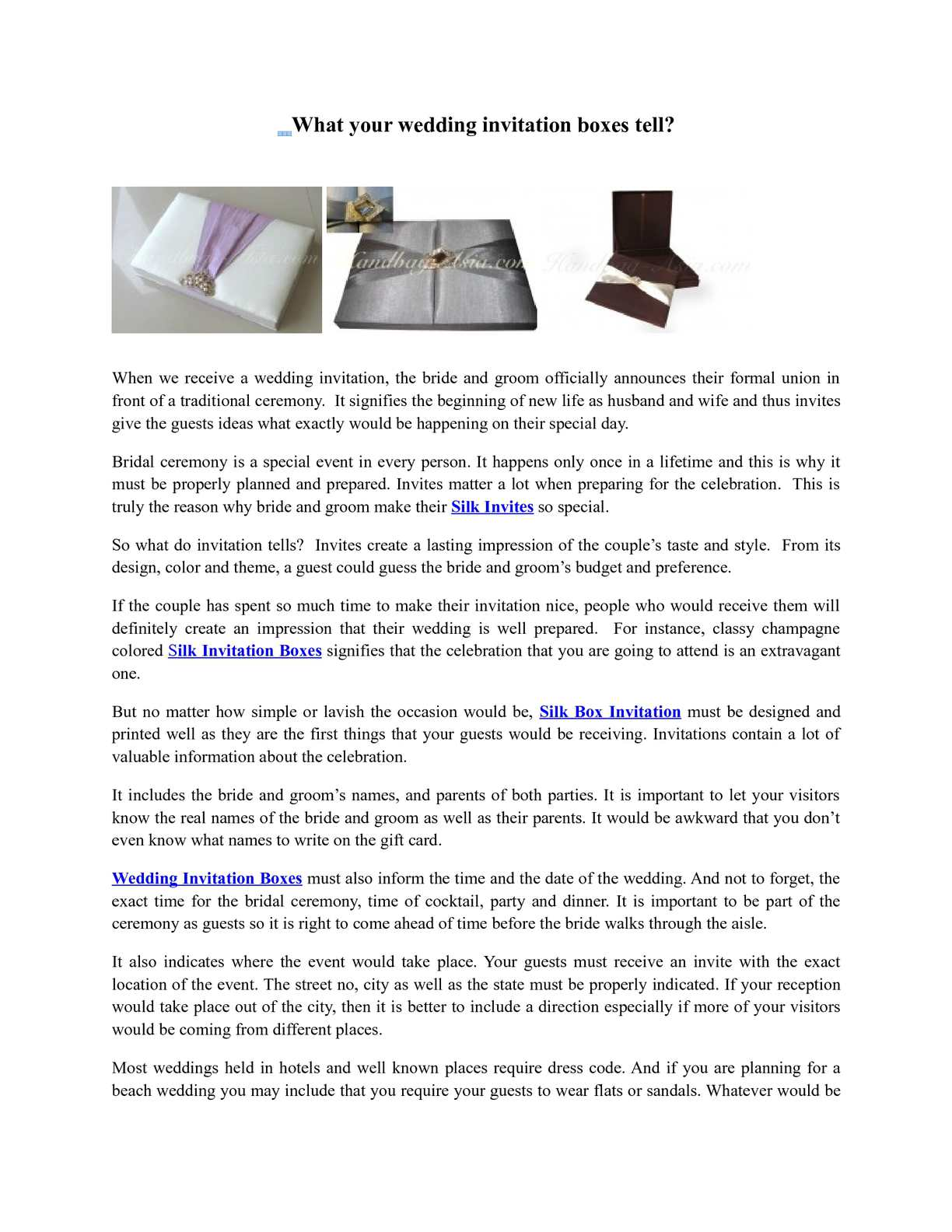 calaméo what your wedding invitation boxes tell