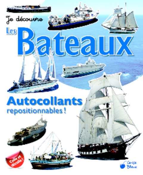 """Autocollants """"Je découvre : Les Bateaux"""""""