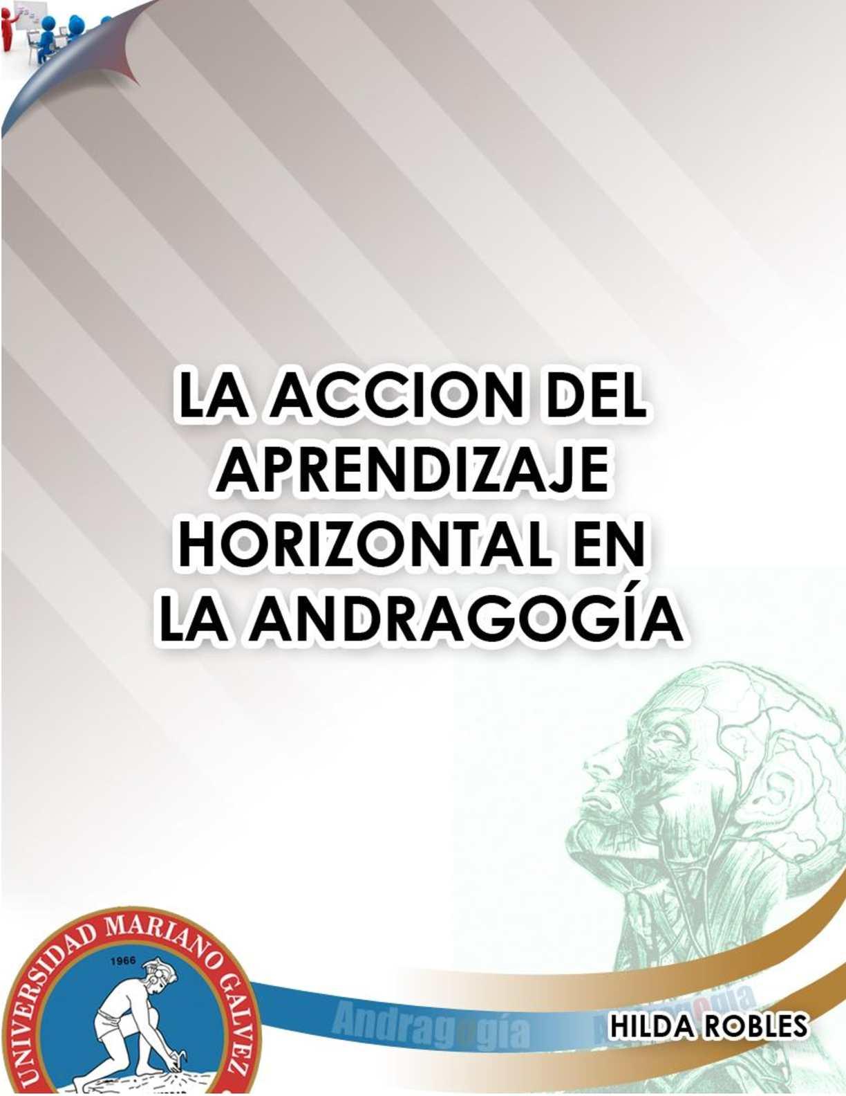 Horizontalidad y Participación en Andragogia