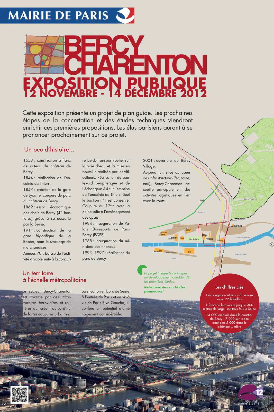 Calam o op ration bercy charenton paris 12e panneaux - Porte de charenton metro ...
