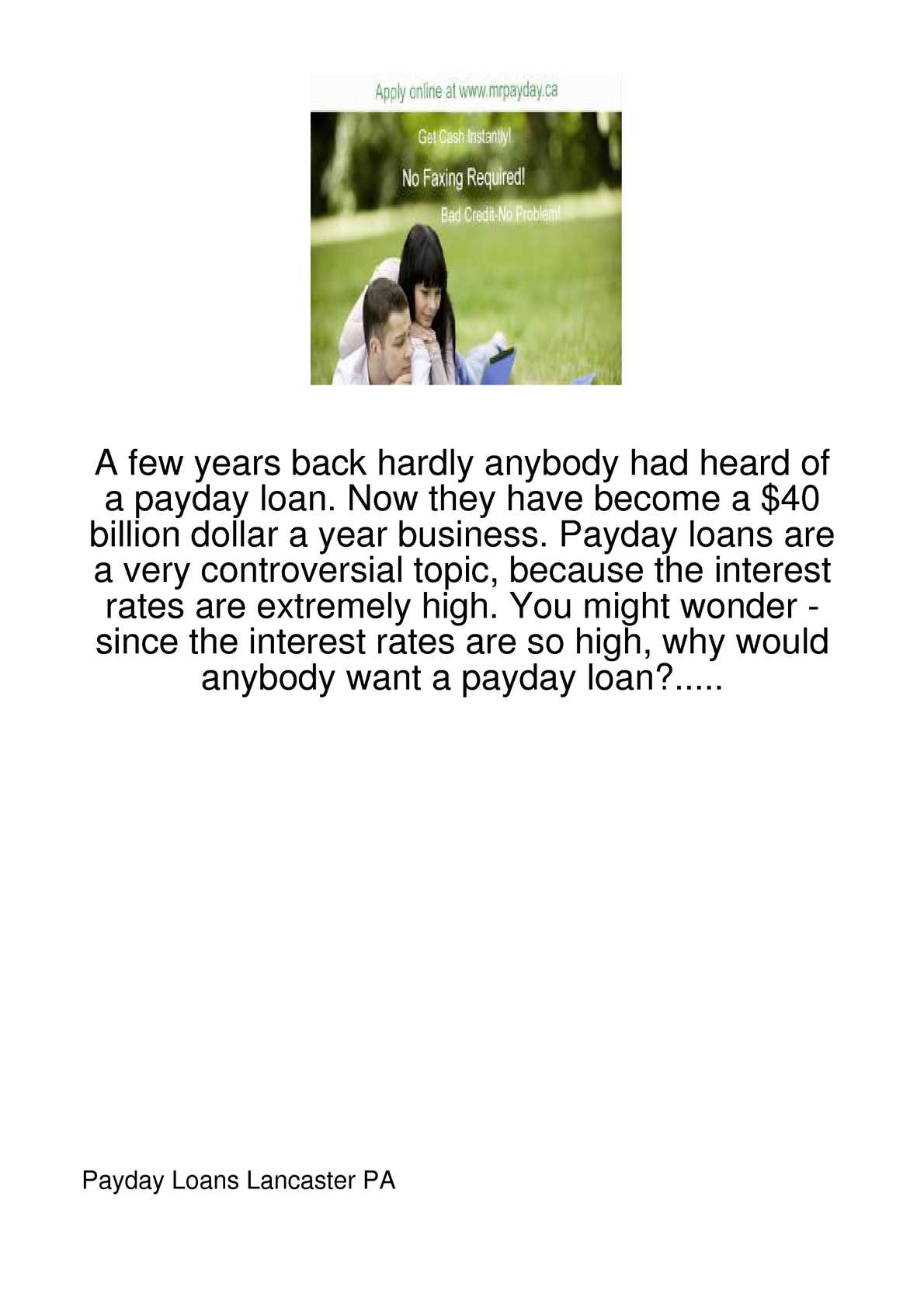 Fast cash till payday image 1