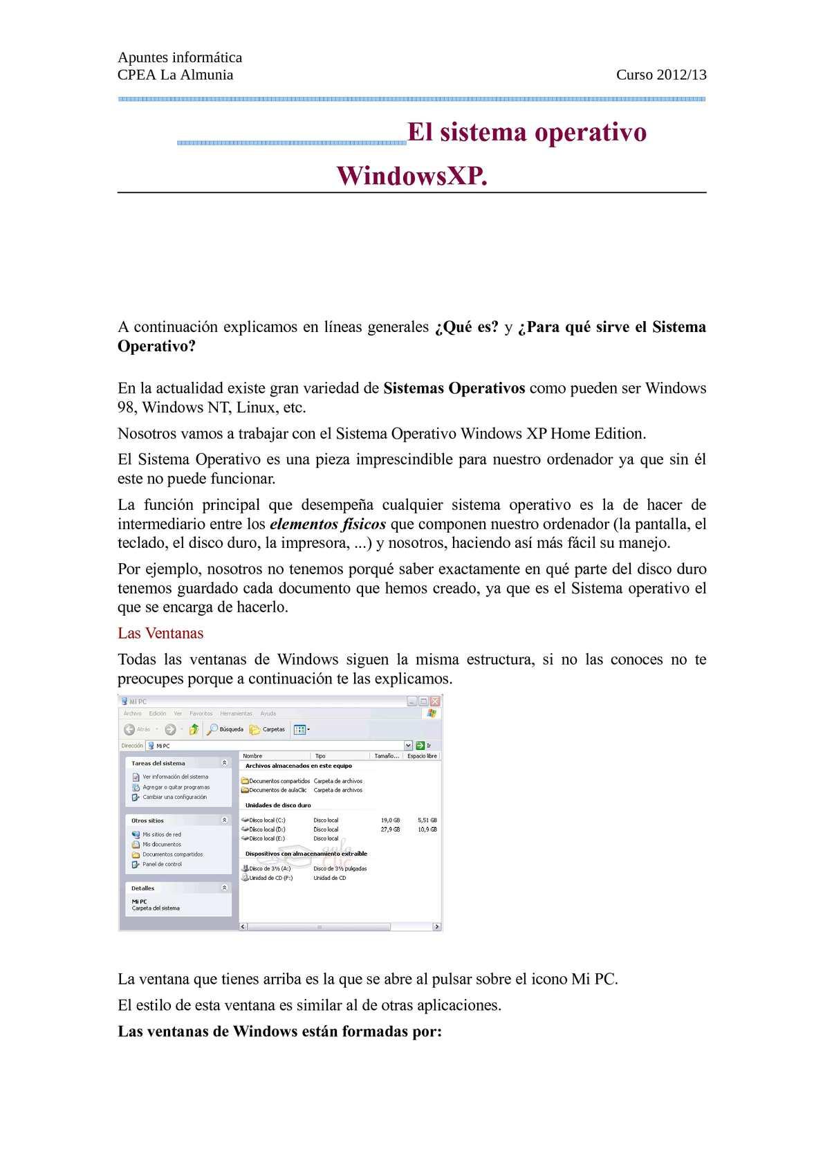 Calaméo - Apuntes informática