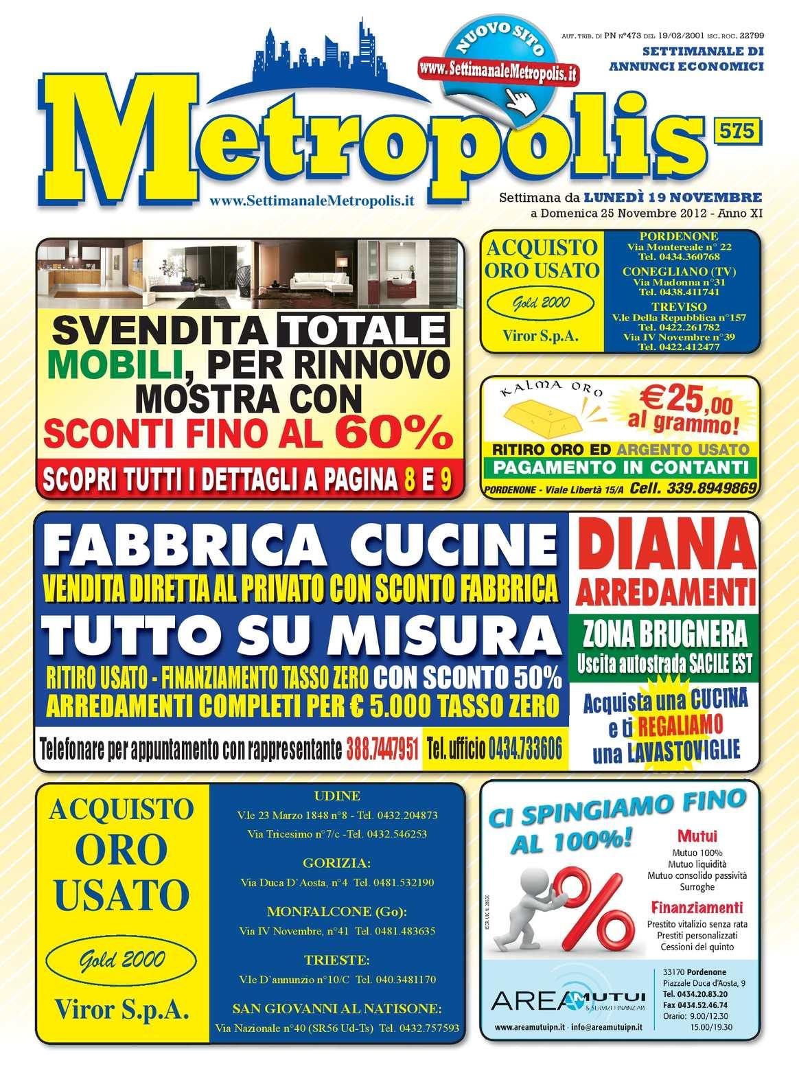 Calaméo Settimanale Metropolis 575 Del 19 Novembre 2012