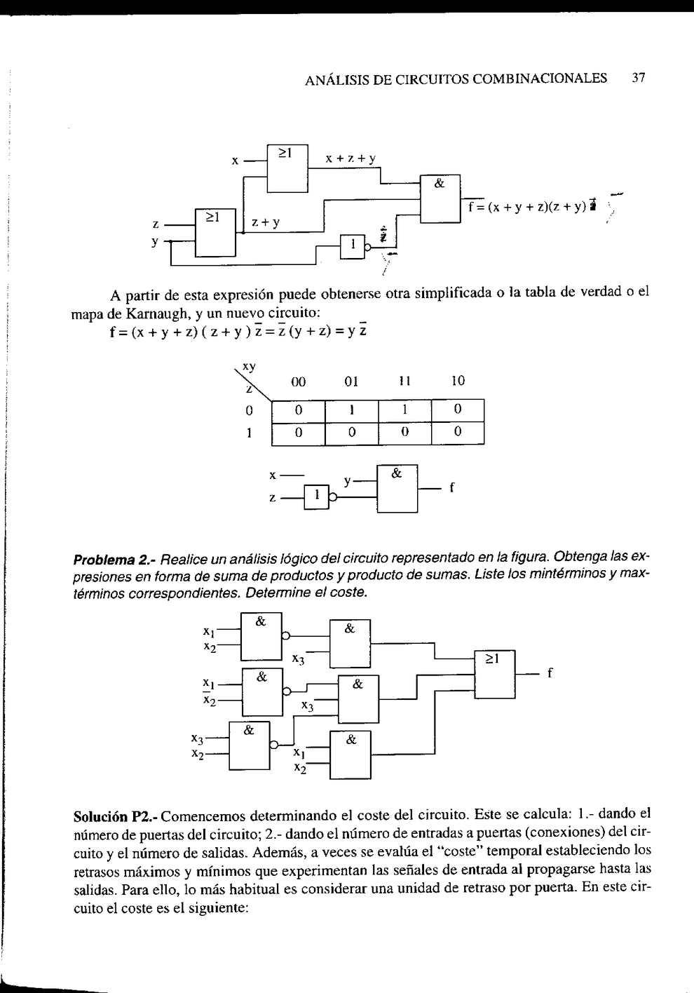 Circuito Z : Electronica digital problemas de circuitos y sistemas digitales