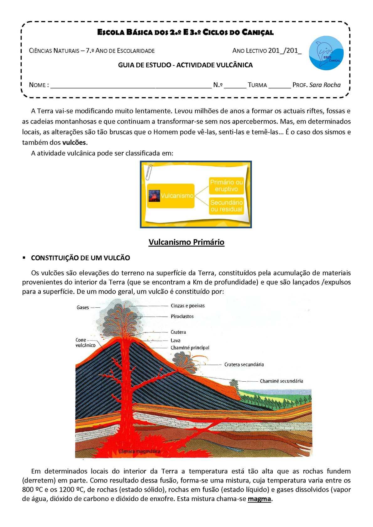 Vulcanismo
