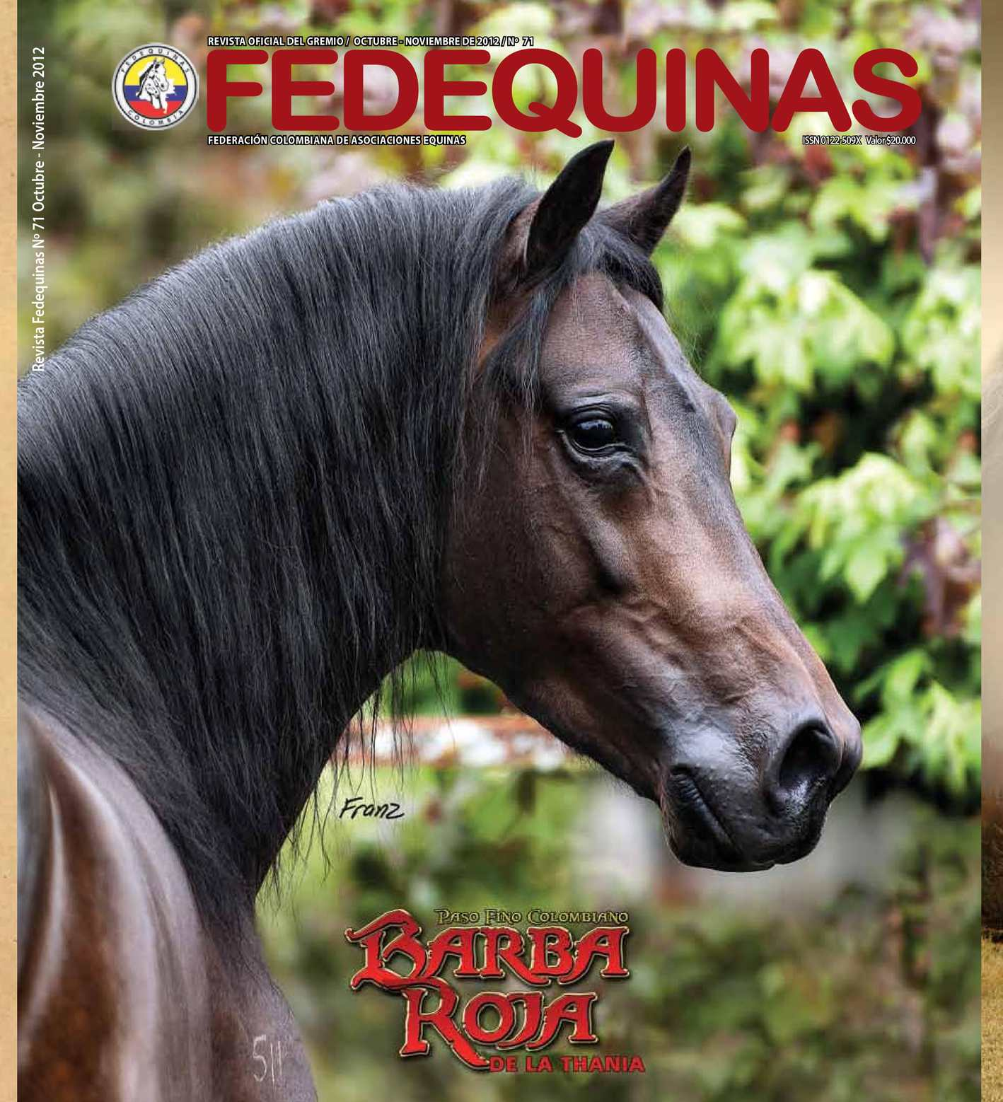 Revista Fedequinas N°71