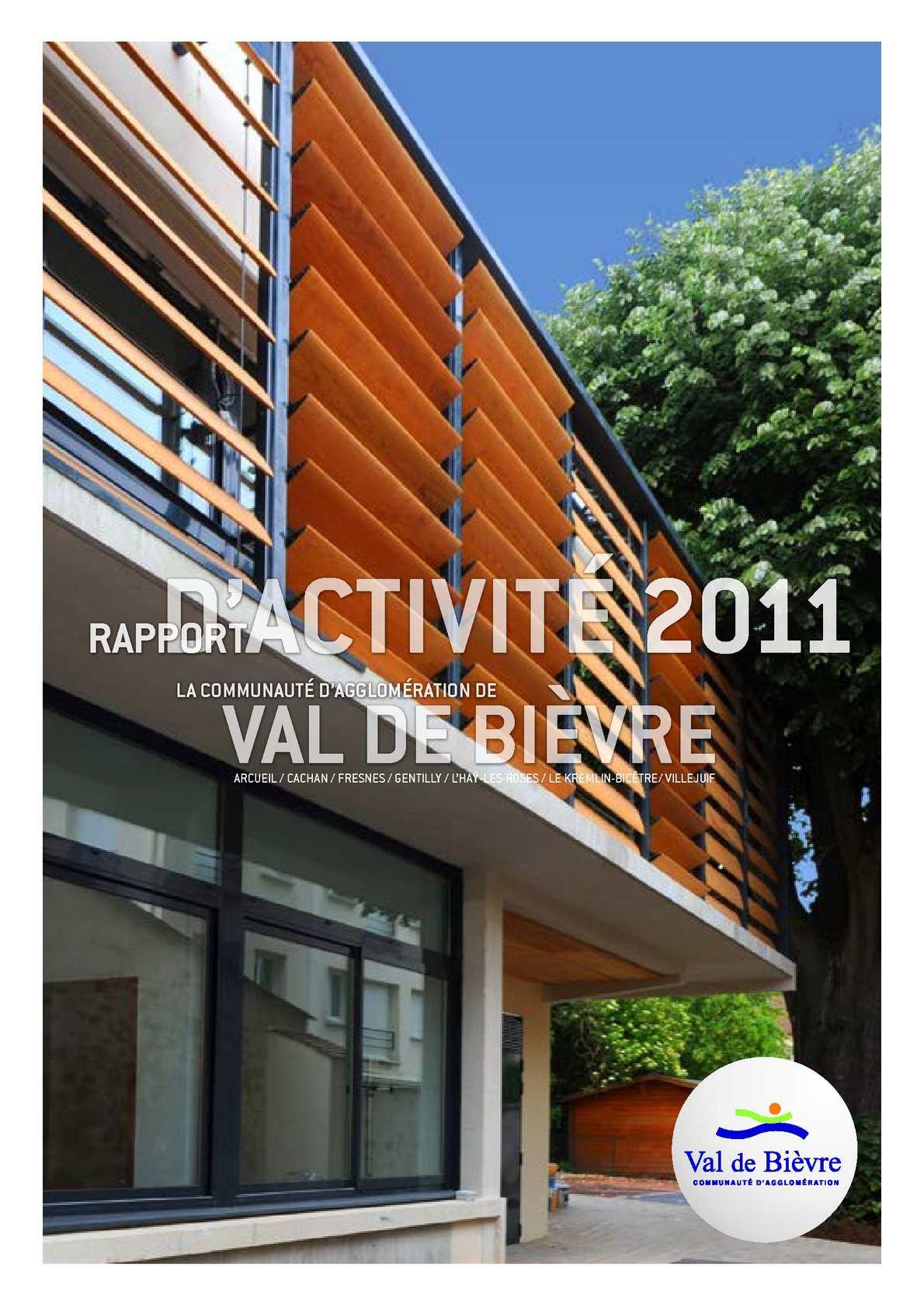 Calam o rapport d 39 activit 2011 communaut d for Chevilly larue piscine