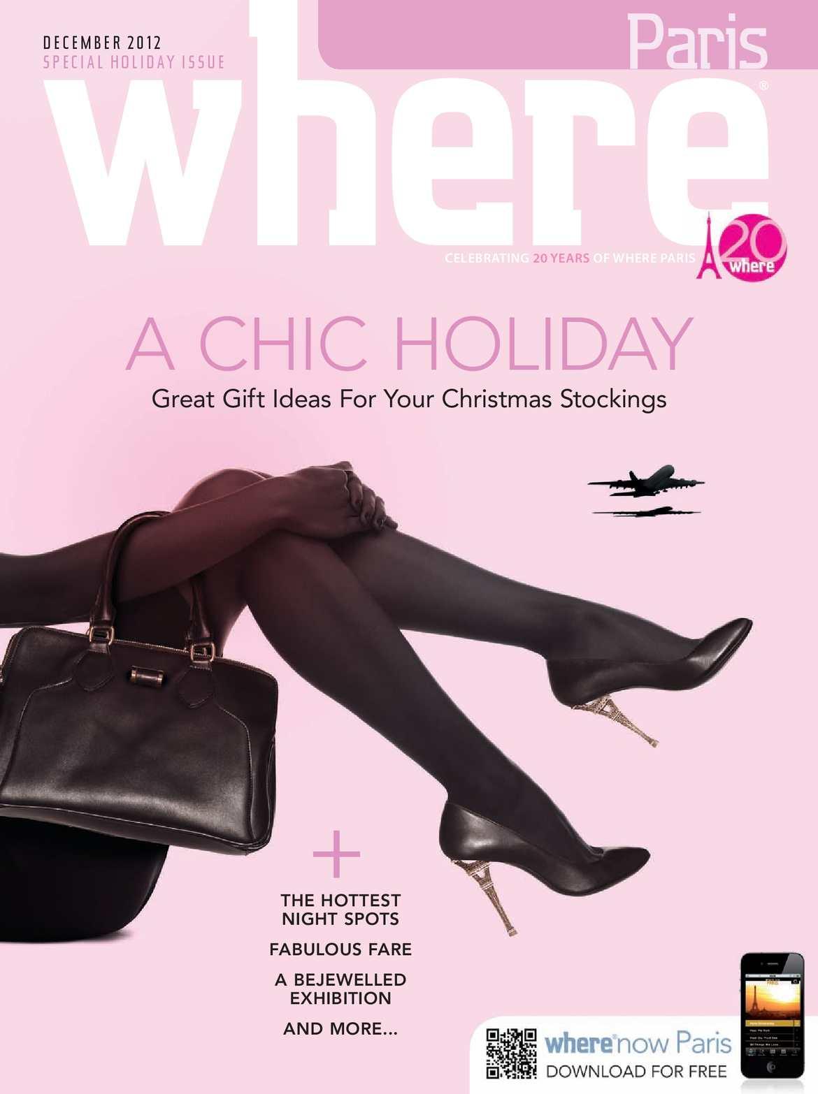 443ab467b8a Calaméo - Where Paris Magazine - December 2012