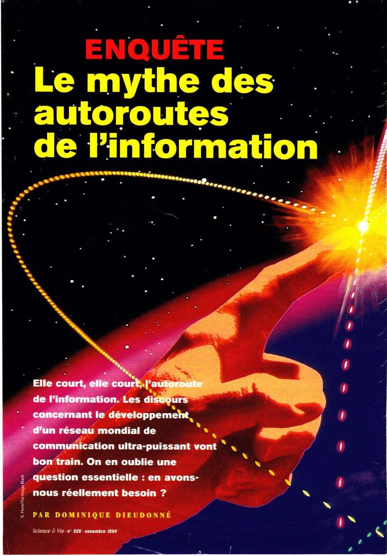 Le mythe des autoroutes de l'information